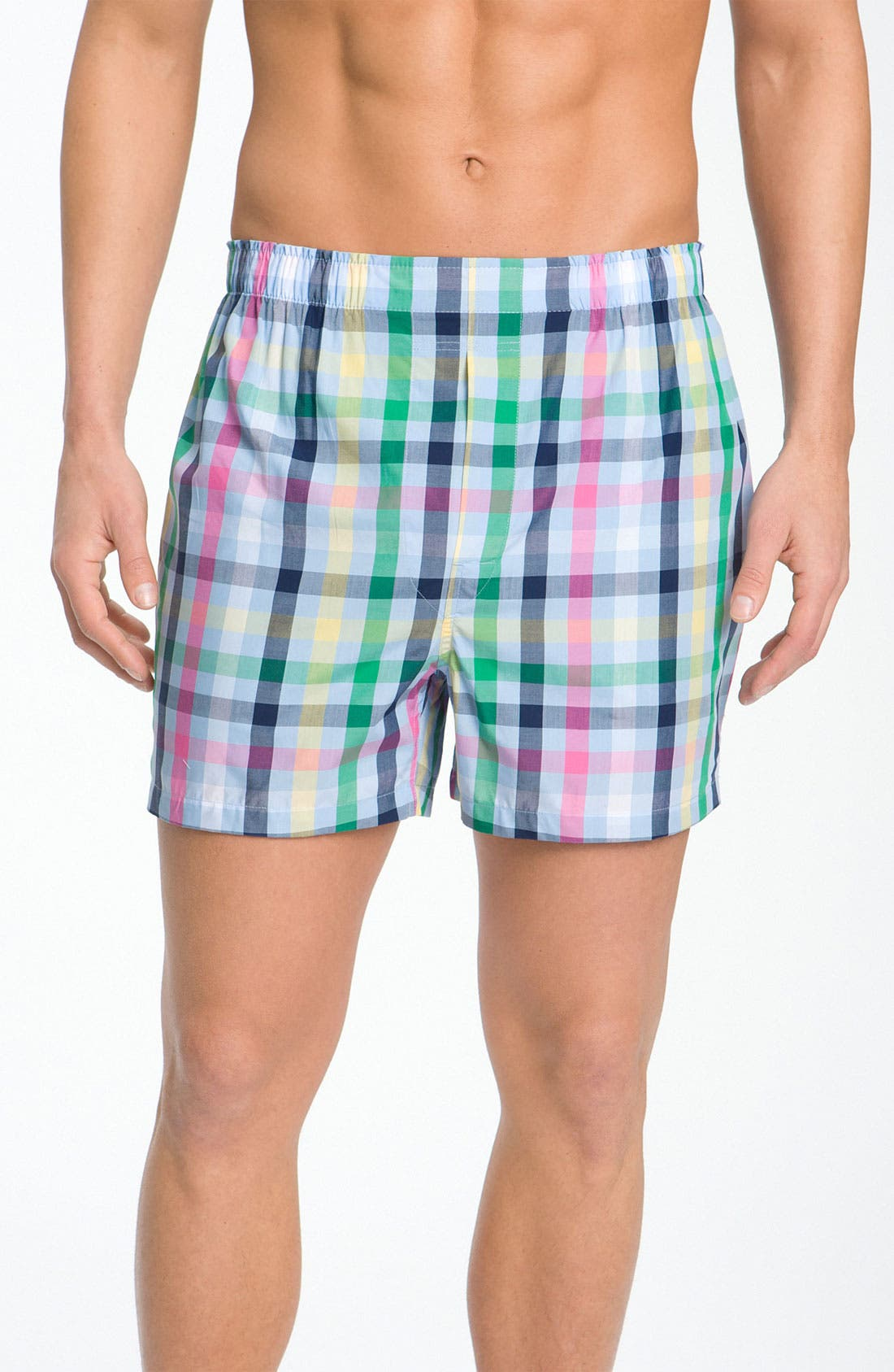Alternate Image 1 Selected - Brooks Brothers Cotton Boxers