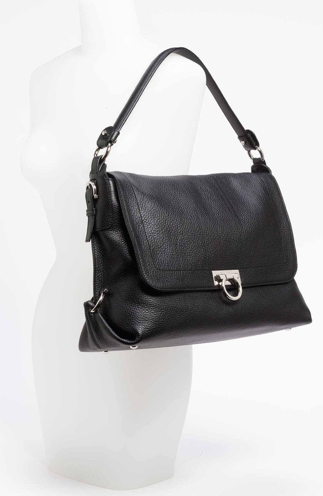 Alternate Image 2  - Salvatore Ferragamo 'Avye' Leather Shoulder Bag