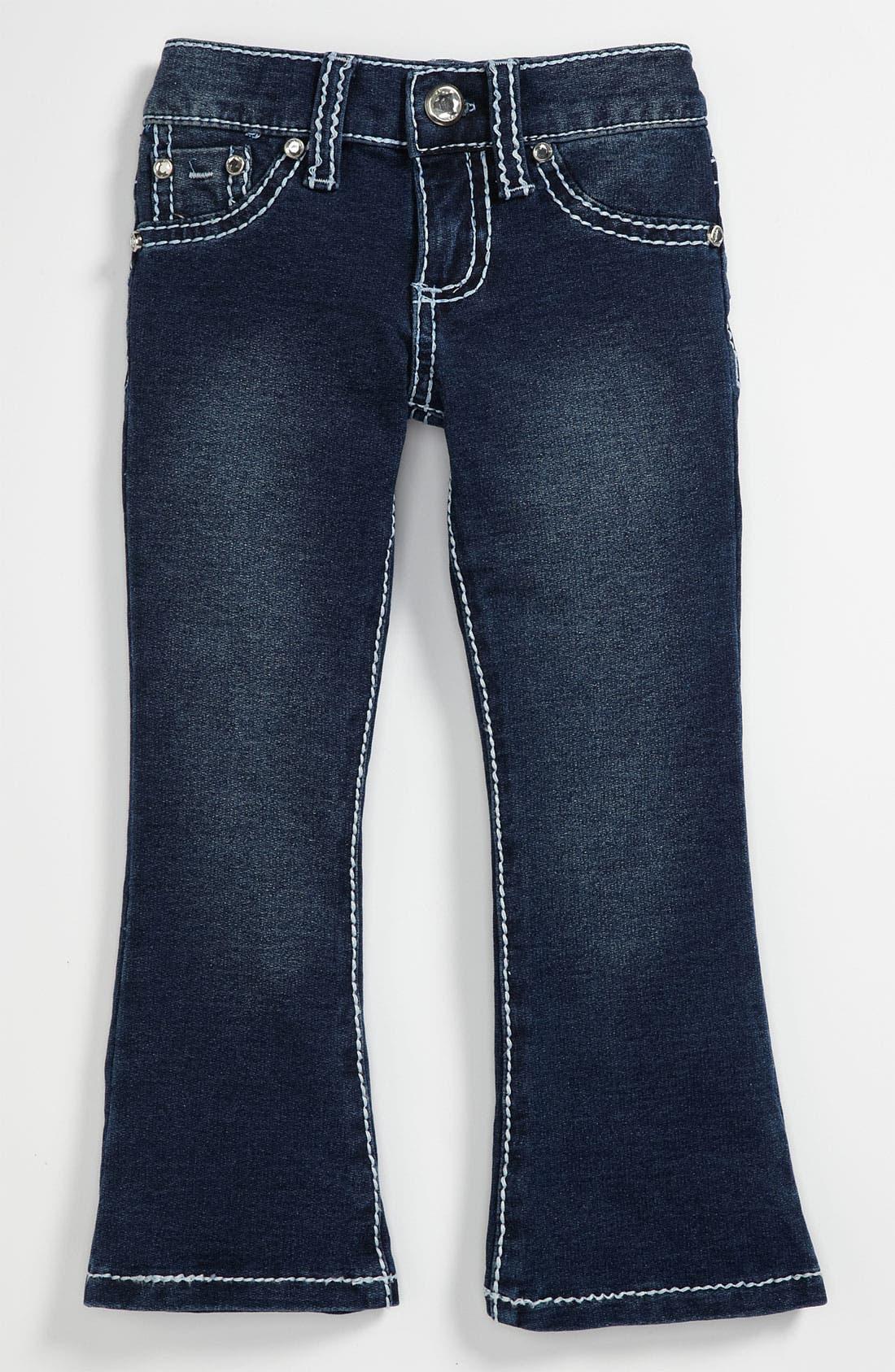 Alternate Image 2  - Tractr 'Heart Pocket' Flare Pants (Toddler)