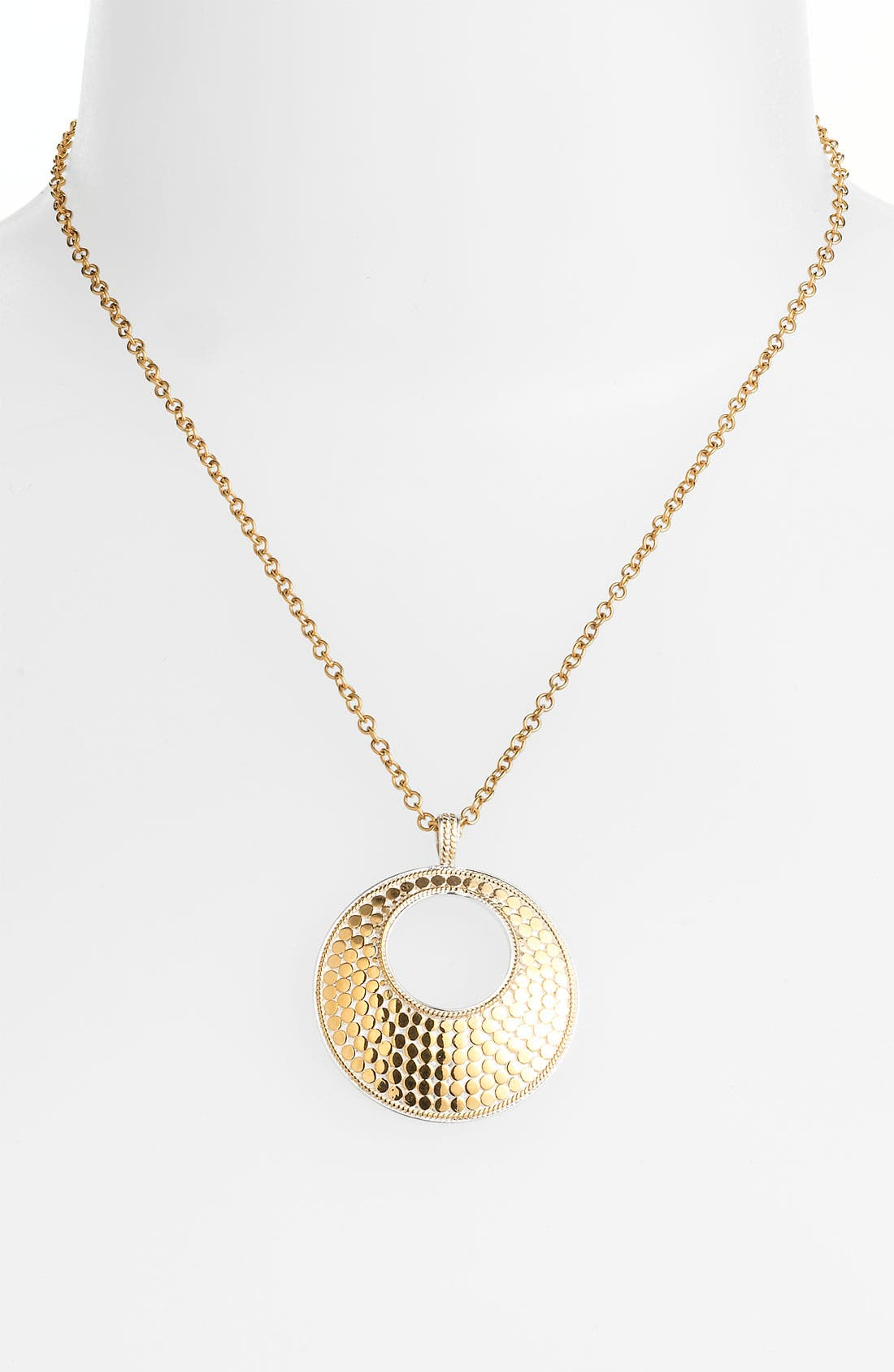 Main Image - Anna Beck 'Gili' Open Circle Pendant Necklace (Nordstrom Exclusive)