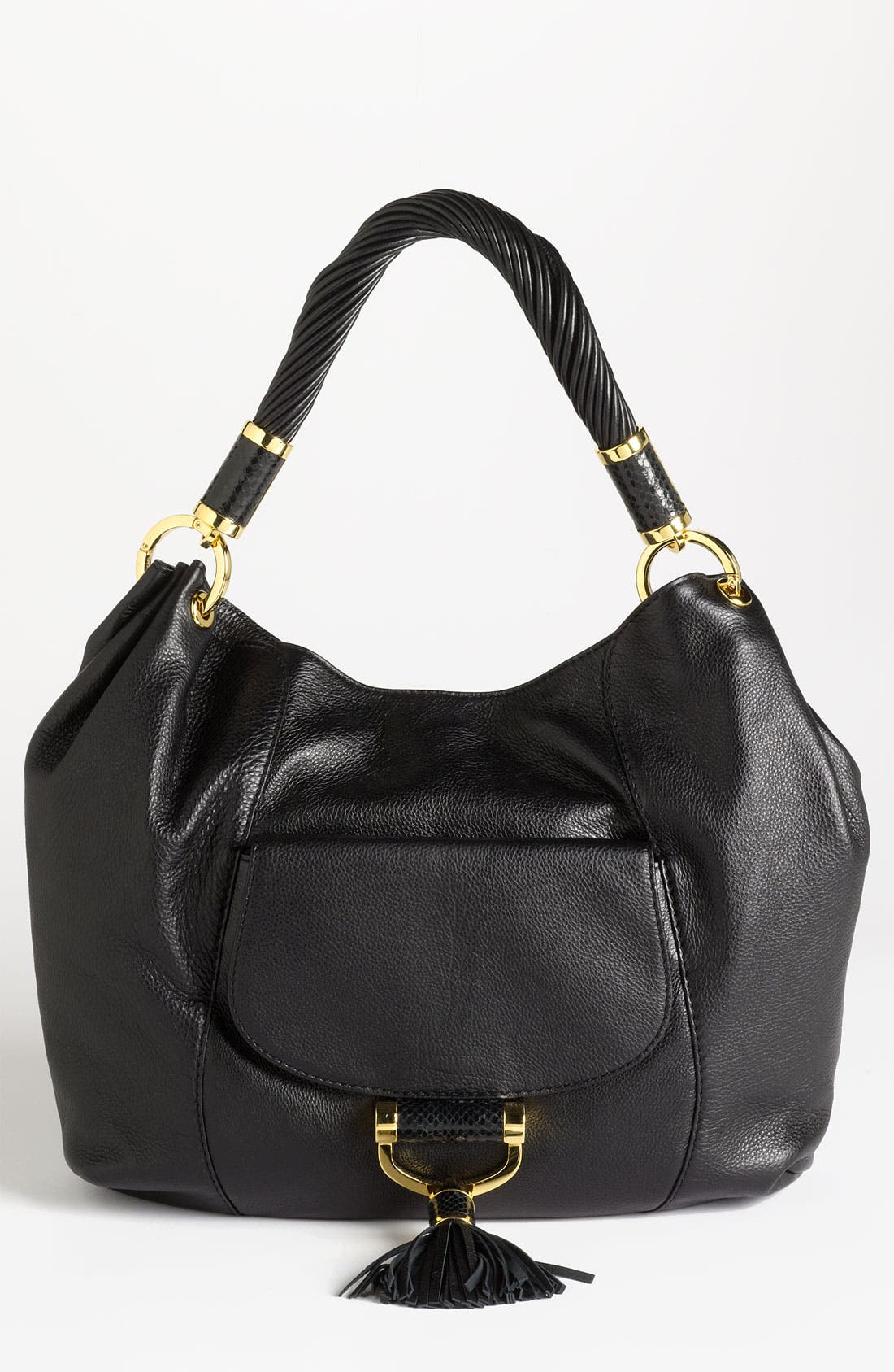 Alternate Image 1 Selected - Michael Kors 'Tonne' Leather Shoulder Bag