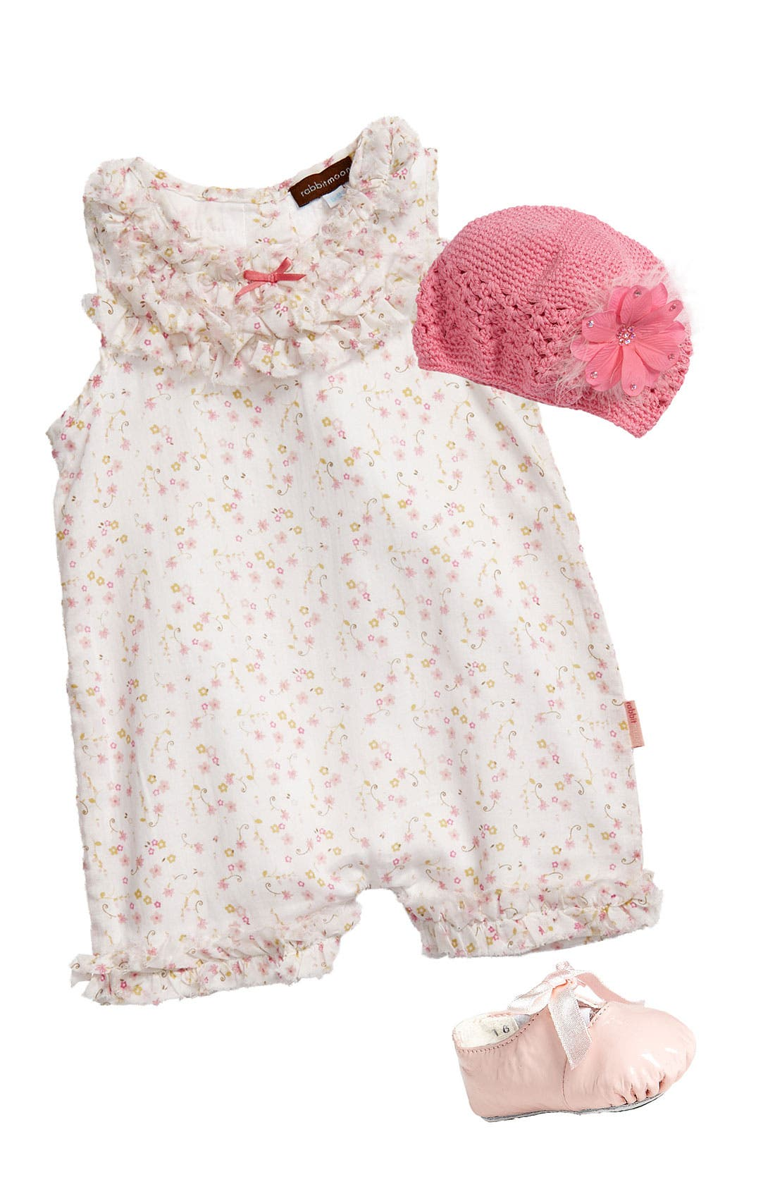 Alternate Image 2  - PLH Bows & Laces Crochet Hat (Toddler)