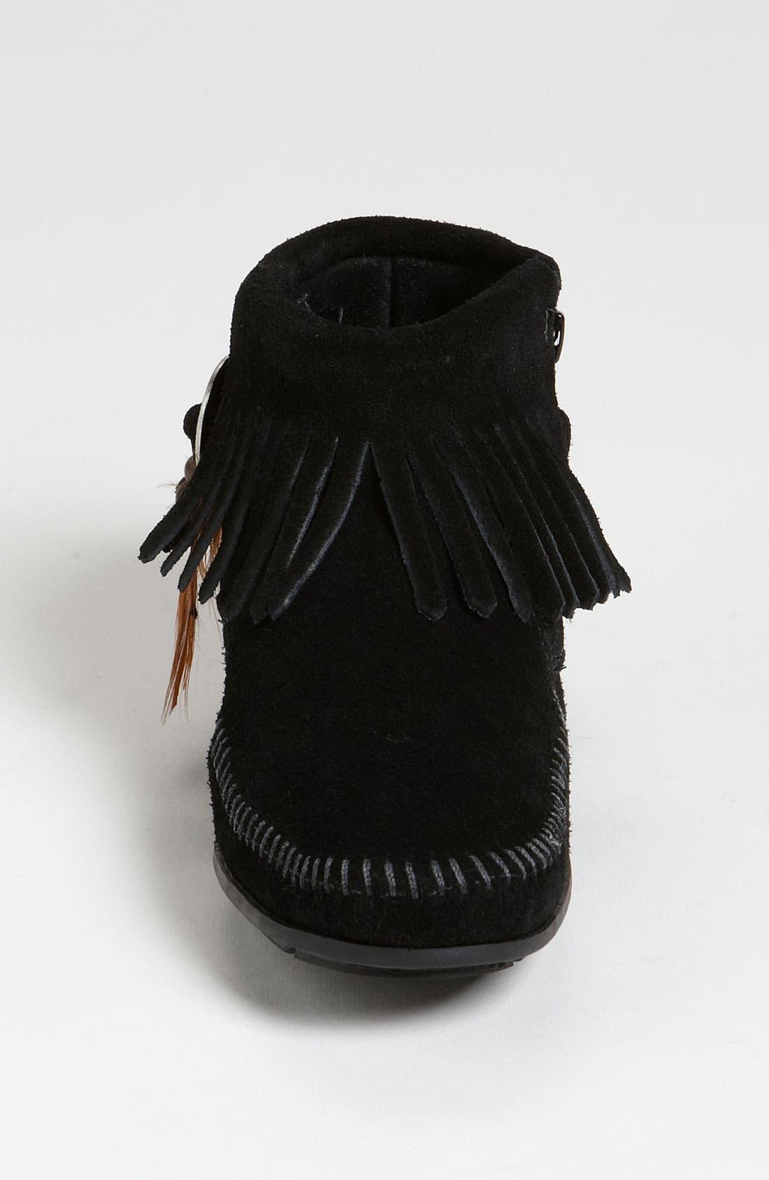 Alternate Image 4  - Minnetonka 'Concho Feather' Moccasin