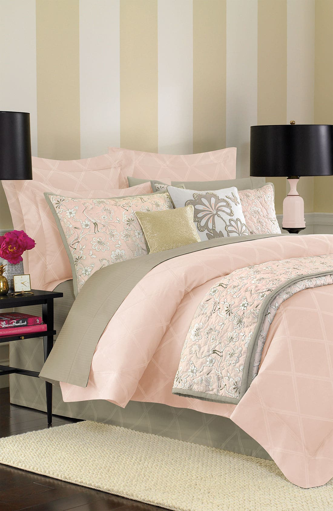 Alternate Image 2  - kate spade new york 'magnolia park' duvet cover