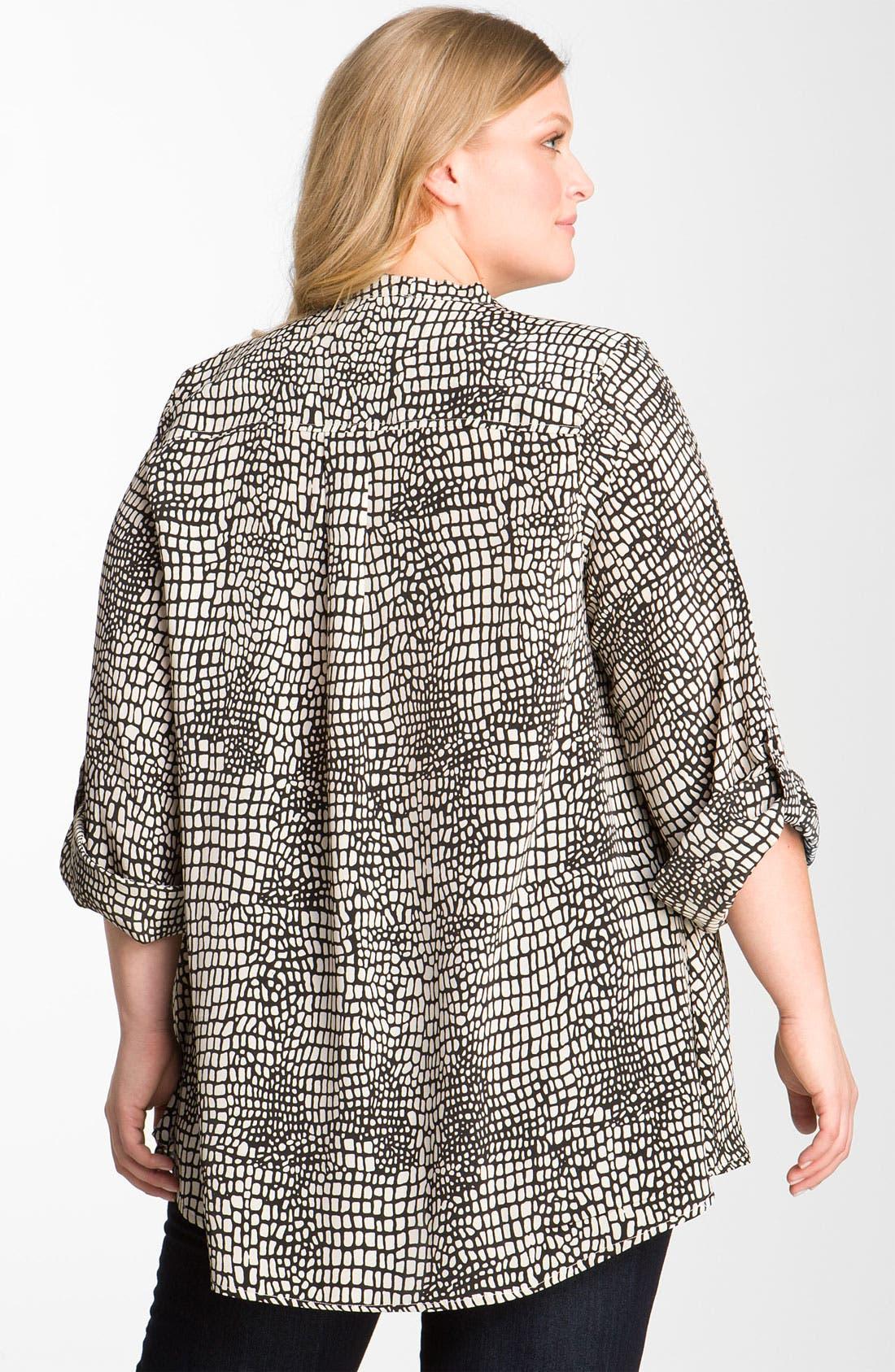 Alternate Image 2  - Tolani 'Marian' Tunic (Plus Size)