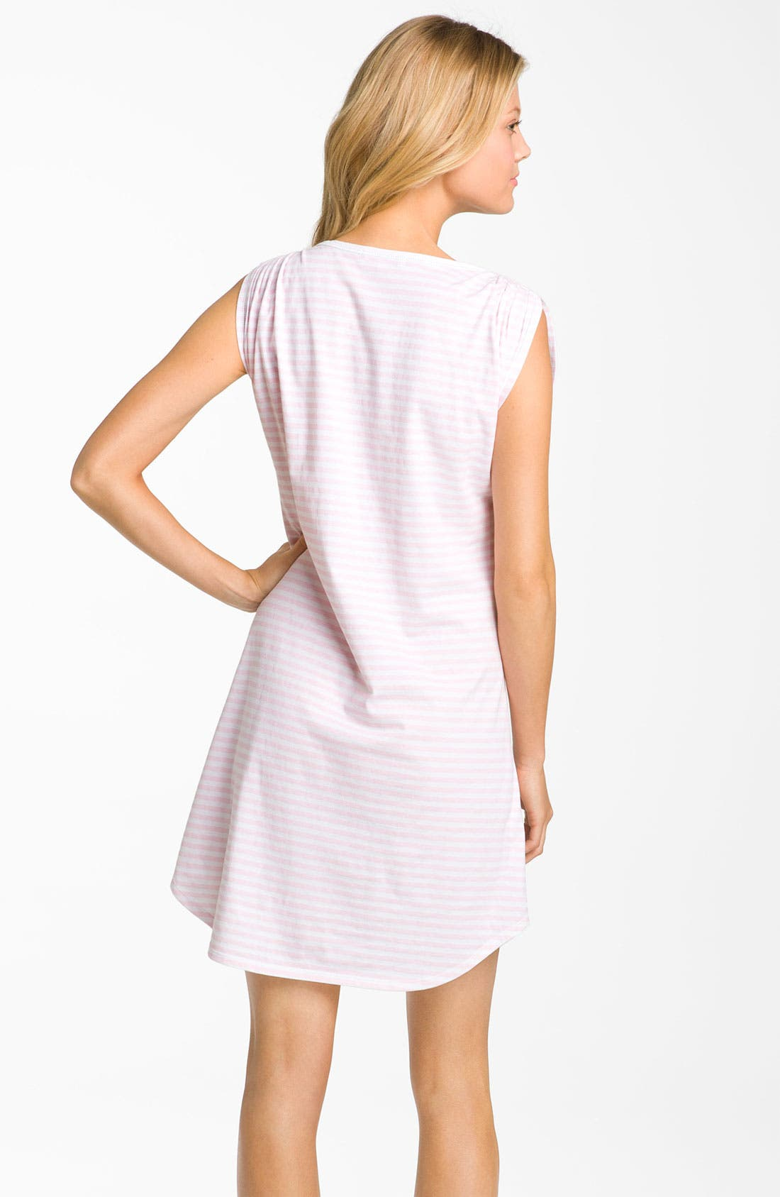 Alternate Image 2  - Carole Hochman Designs 'Coastal Stripe' Sleep Shirt