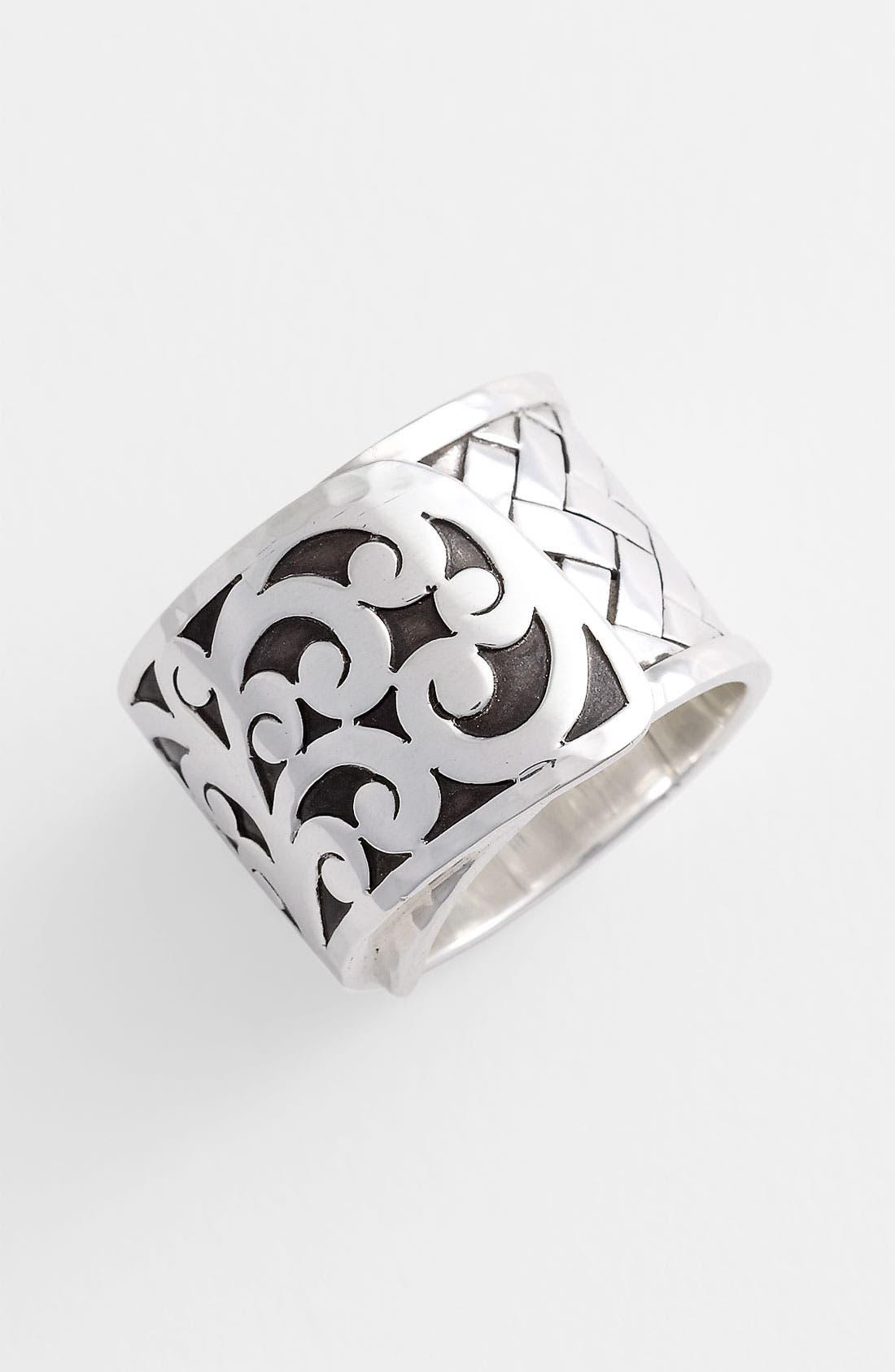 Alternate Image 1 Selected - Lois Hill 'Basket Weave' Cigar Band Ring
