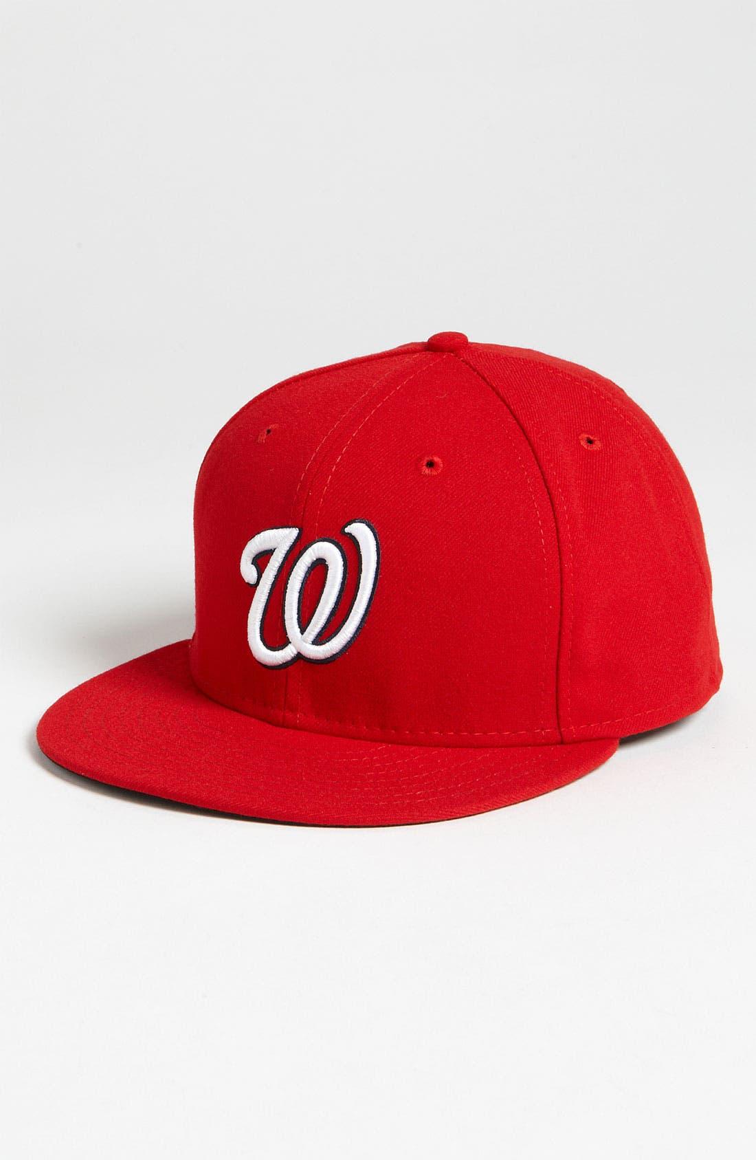 Alternate Image 1 Selected - New Era Cap 'Washington Nationals' Baseball Cap