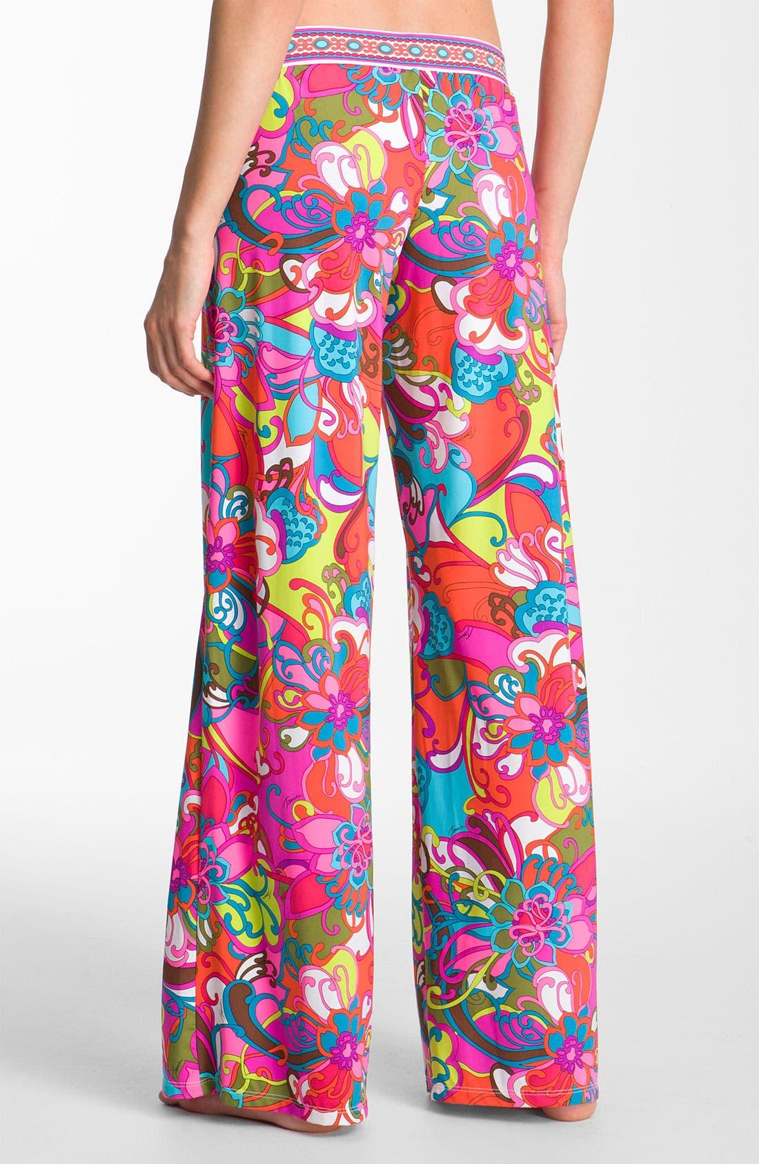 Alternate Image 2  - Trina Turk 'Fiji Flowers' Cover-Up Pants
