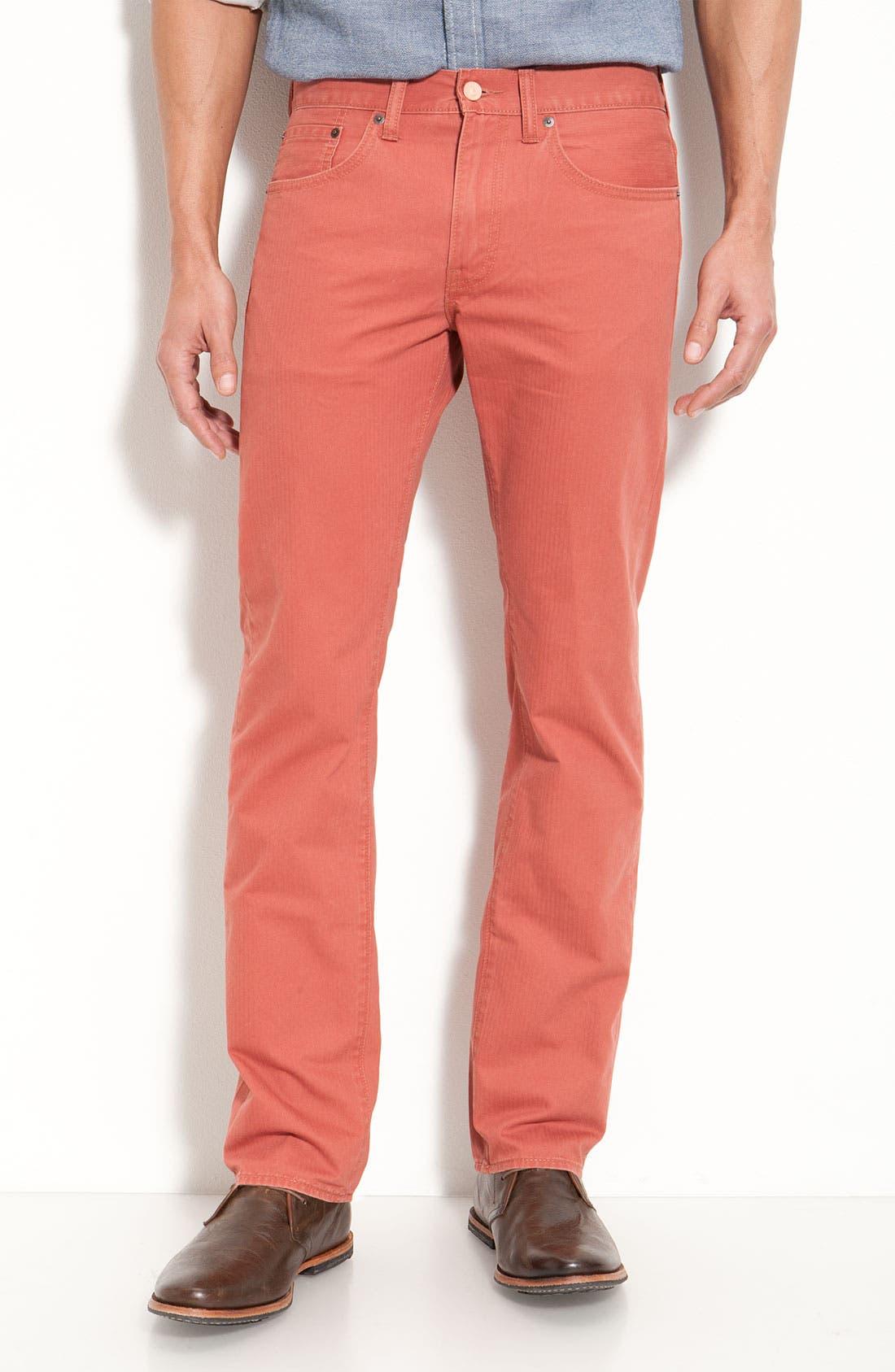 Alternate Image 1 Selected - Levi's® '513™' Slim Twill Pants