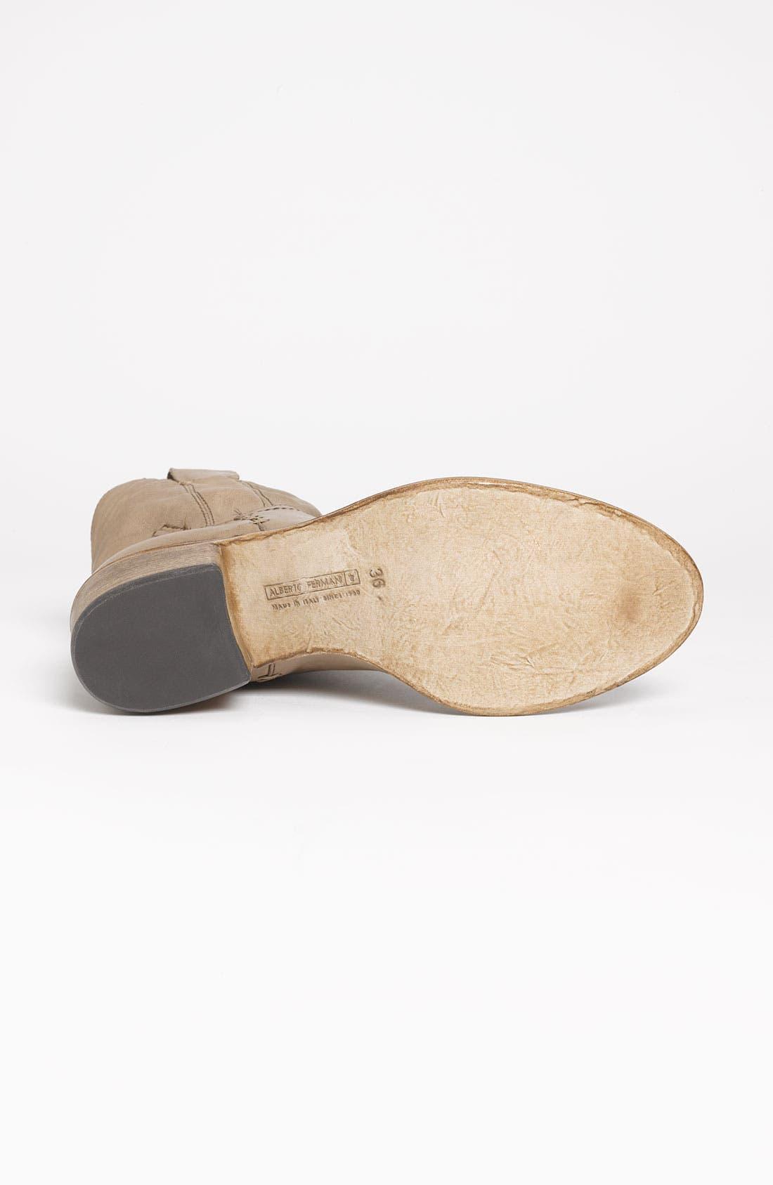 Alternate Image 4  - Alberto Fermani Western Ankle Boot