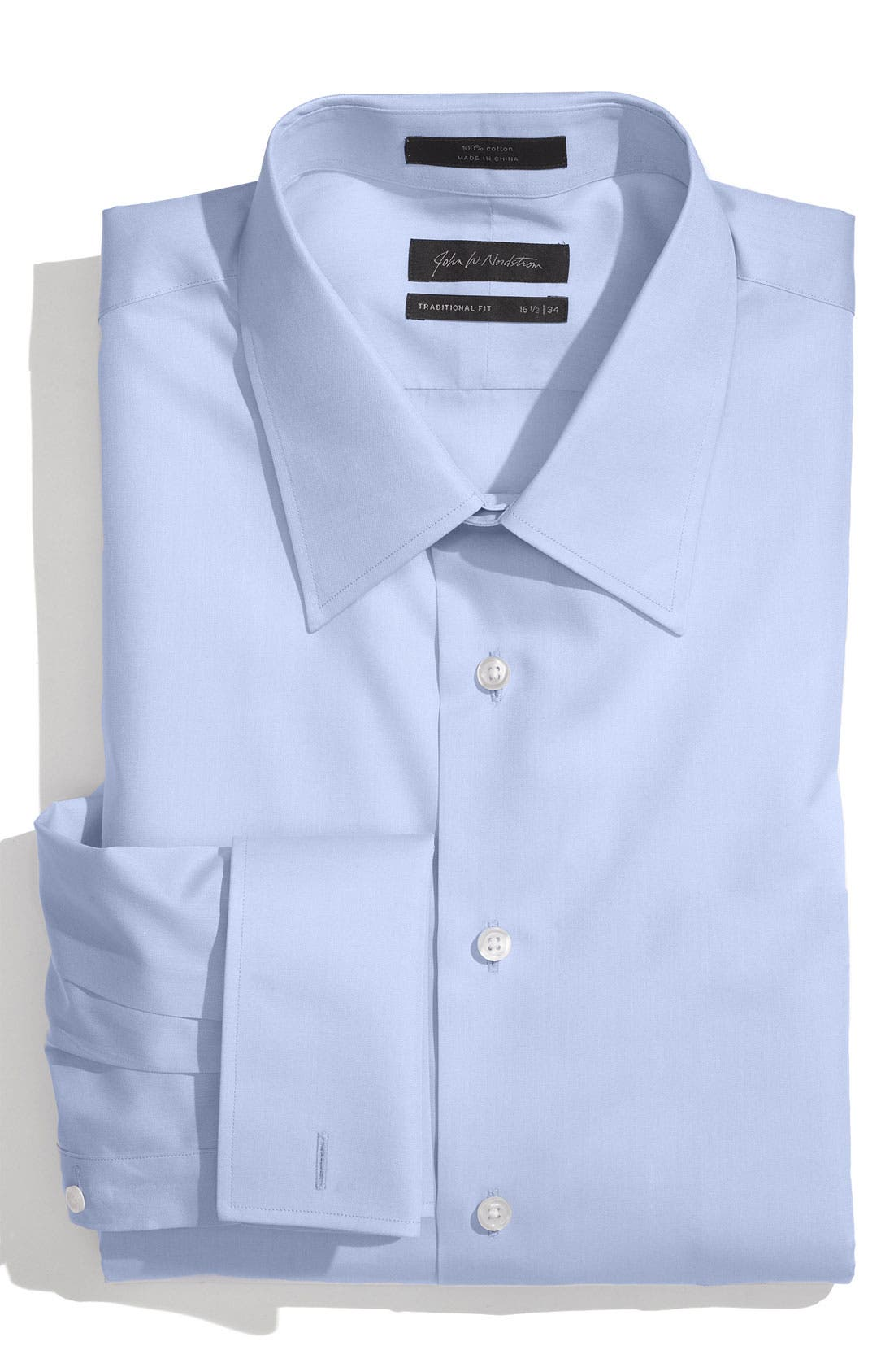 Main Image - John W. Nordstrom® Traditional Fit French Cuff Dress Shirt