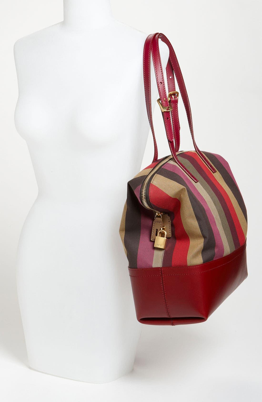 Alternate Image 2  - Fendi 'Pequin 2-Way' Shopper