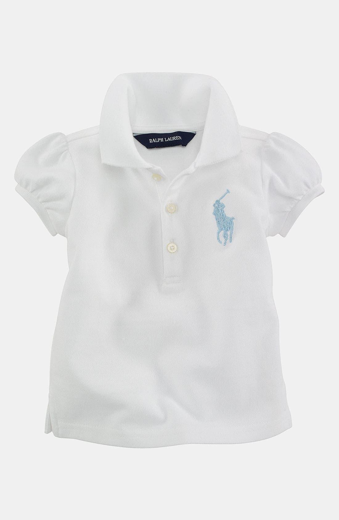 Alternate Image 1 Selected - Ralph Lauren Polo Shirt (Infant)