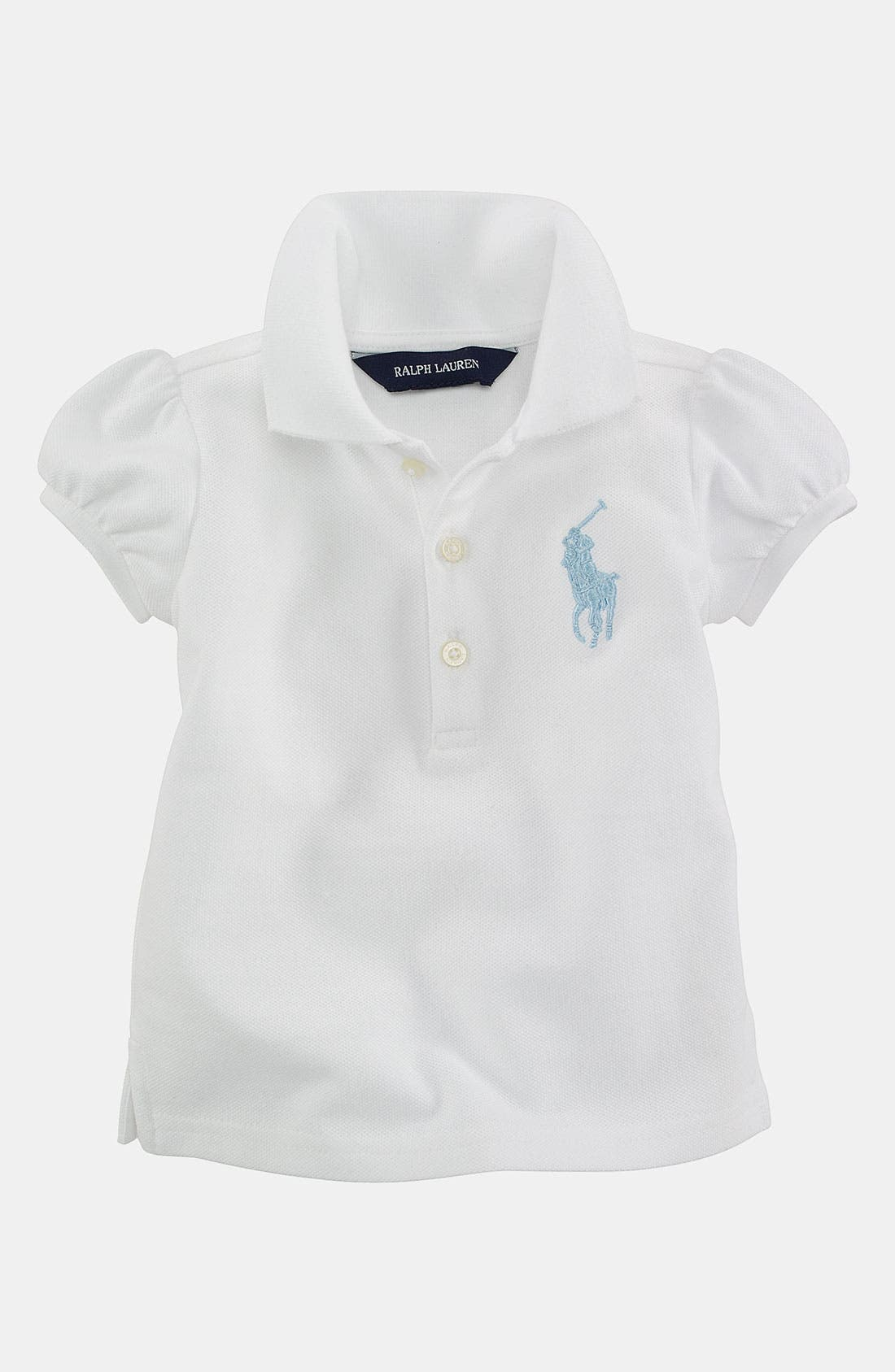 Main Image - Ralph Lauren Polo Shirt (Infant)