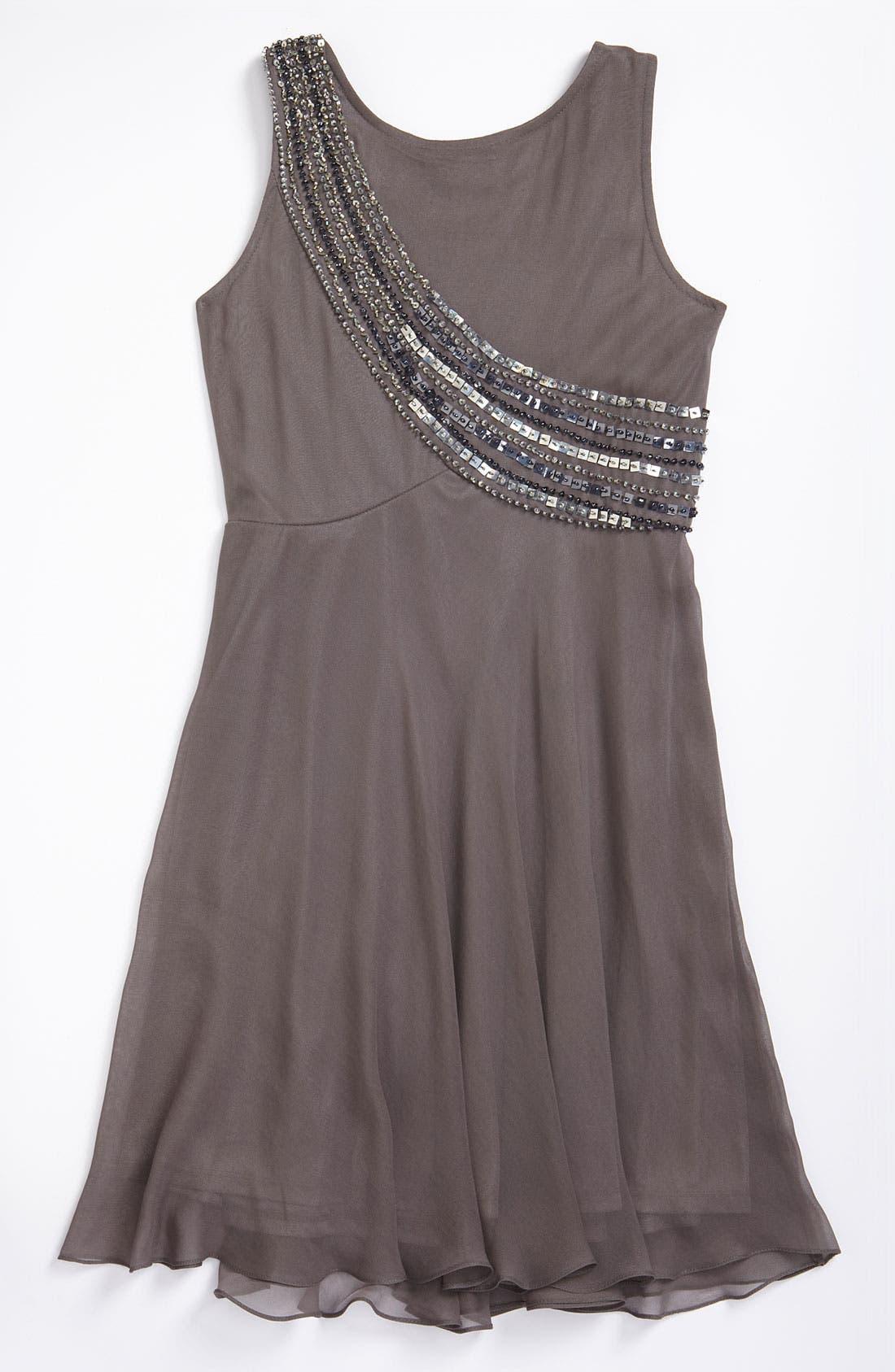 Alternate Image 2  - Sara Sara Sequin Dress (Big Girls)