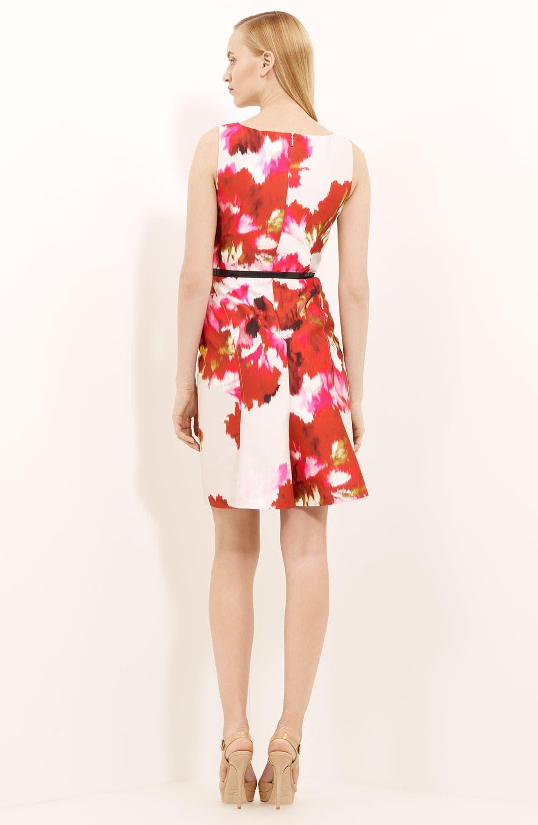 Alternate Image 2  - Max Mara 'Dimitri' Print Silk & Cotton Dress