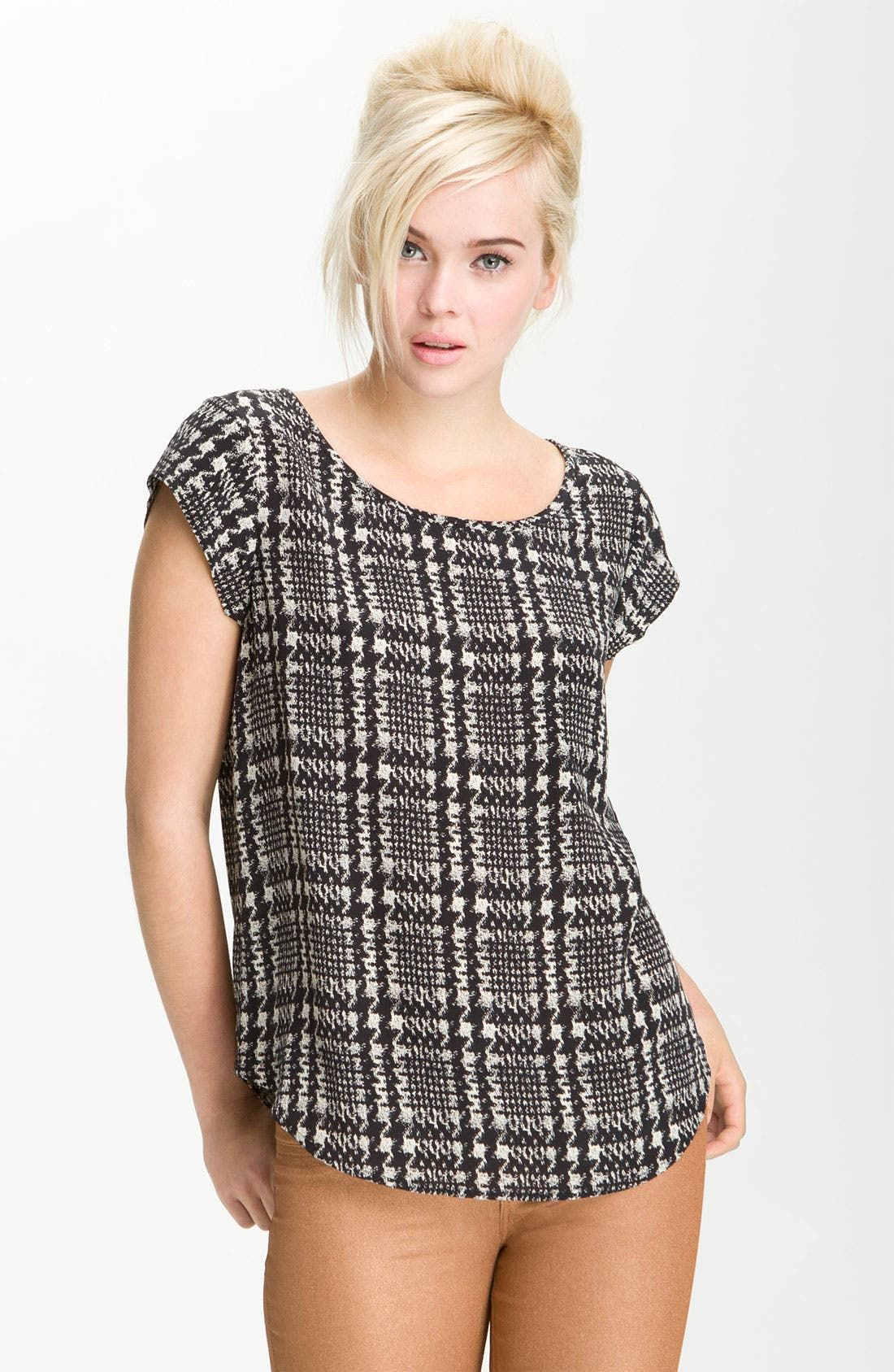 Alternate Image 1 Selected - Joie 'Rancher' Silk Top