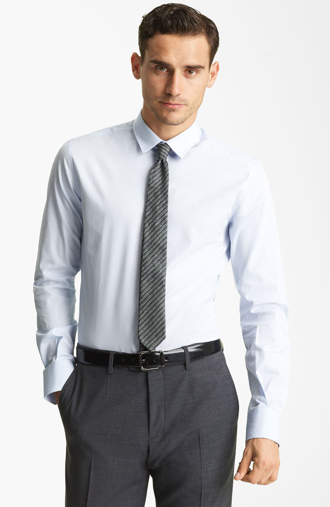 Alternate Image 1 Selected - Dolce&Gabbana Slim Fit Dress Shirt