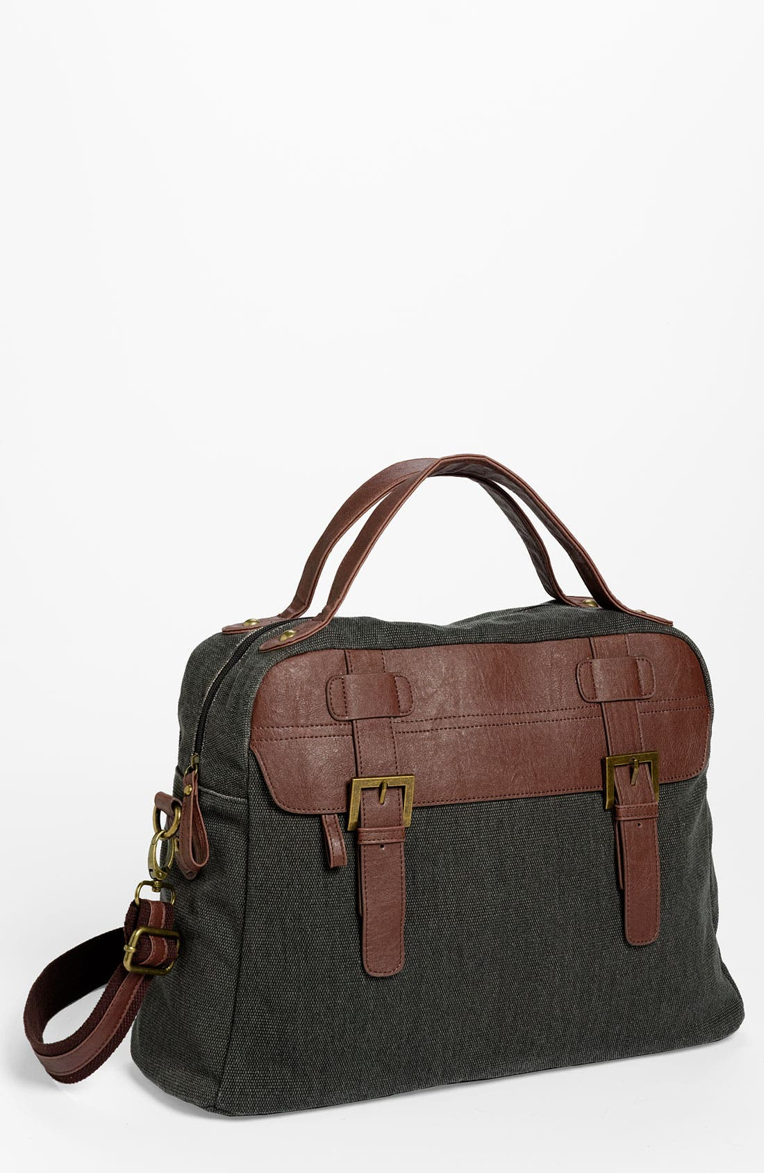 Main Image - BP. Canvas & Faux Leather Tote