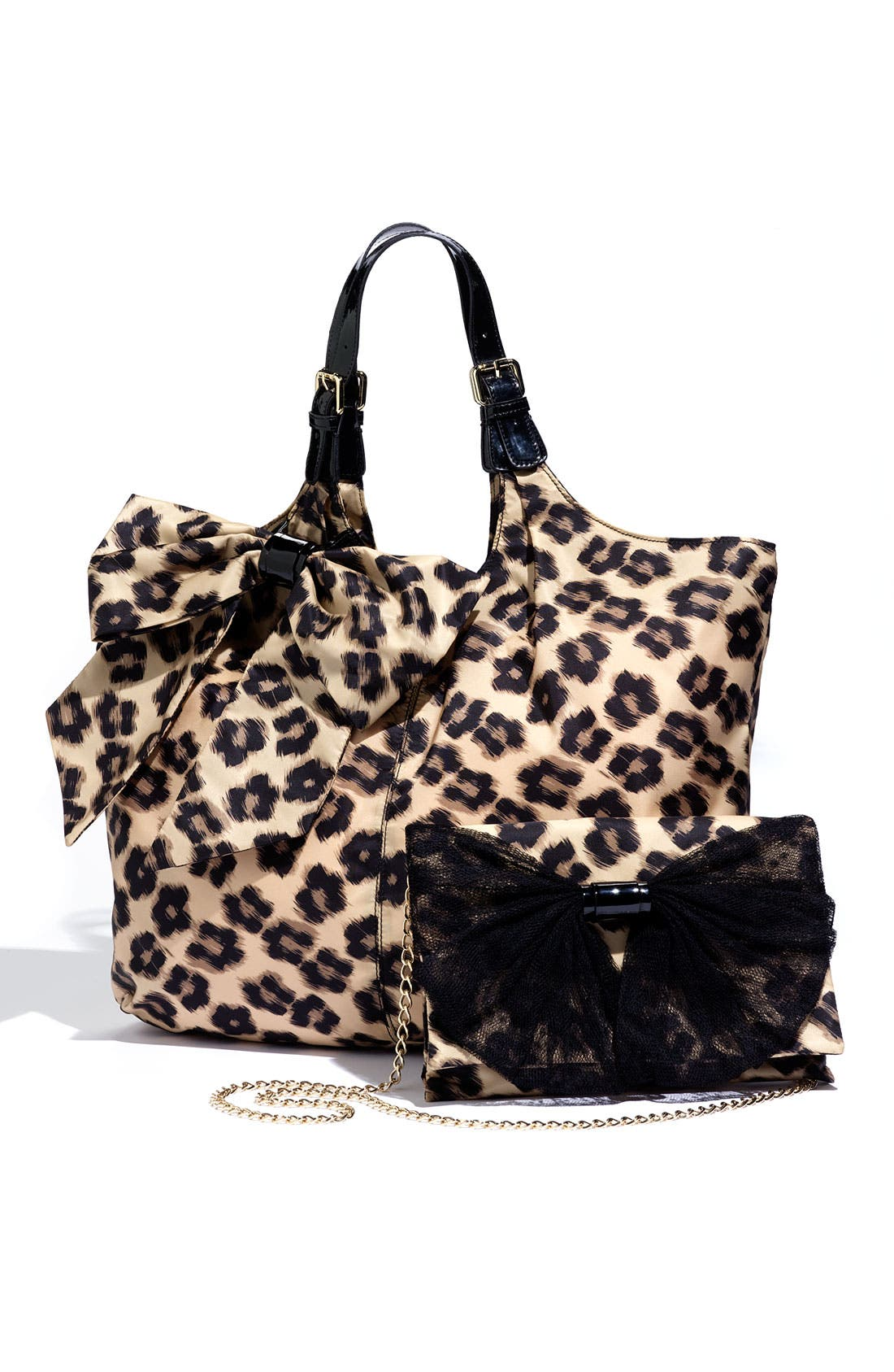 Alternate Image 5  - RED Valentino 'Leopard Flower' Tote