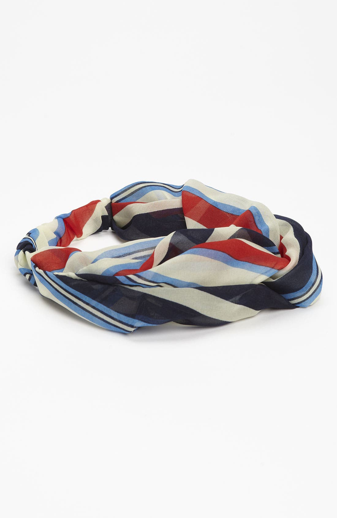 Main Image - Lulu Sheer Chiffon Twist Front Headband