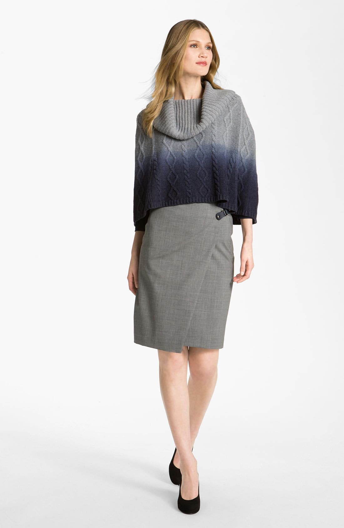 Alternate Image 4  - Lafayette 148 New York Faux Wrap Skirt