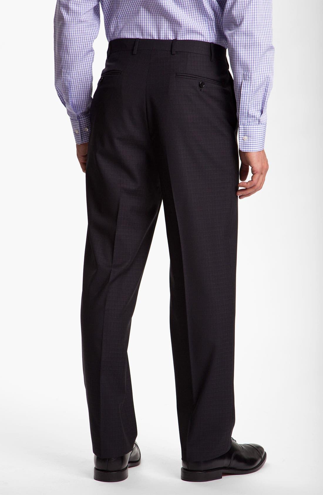 Alternate Image 5  - Canali Windowpane Wool Suit