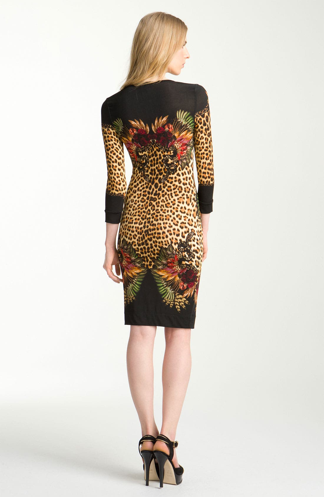 Alternate Image 2  - Just Cavalli Print Jersey Dress