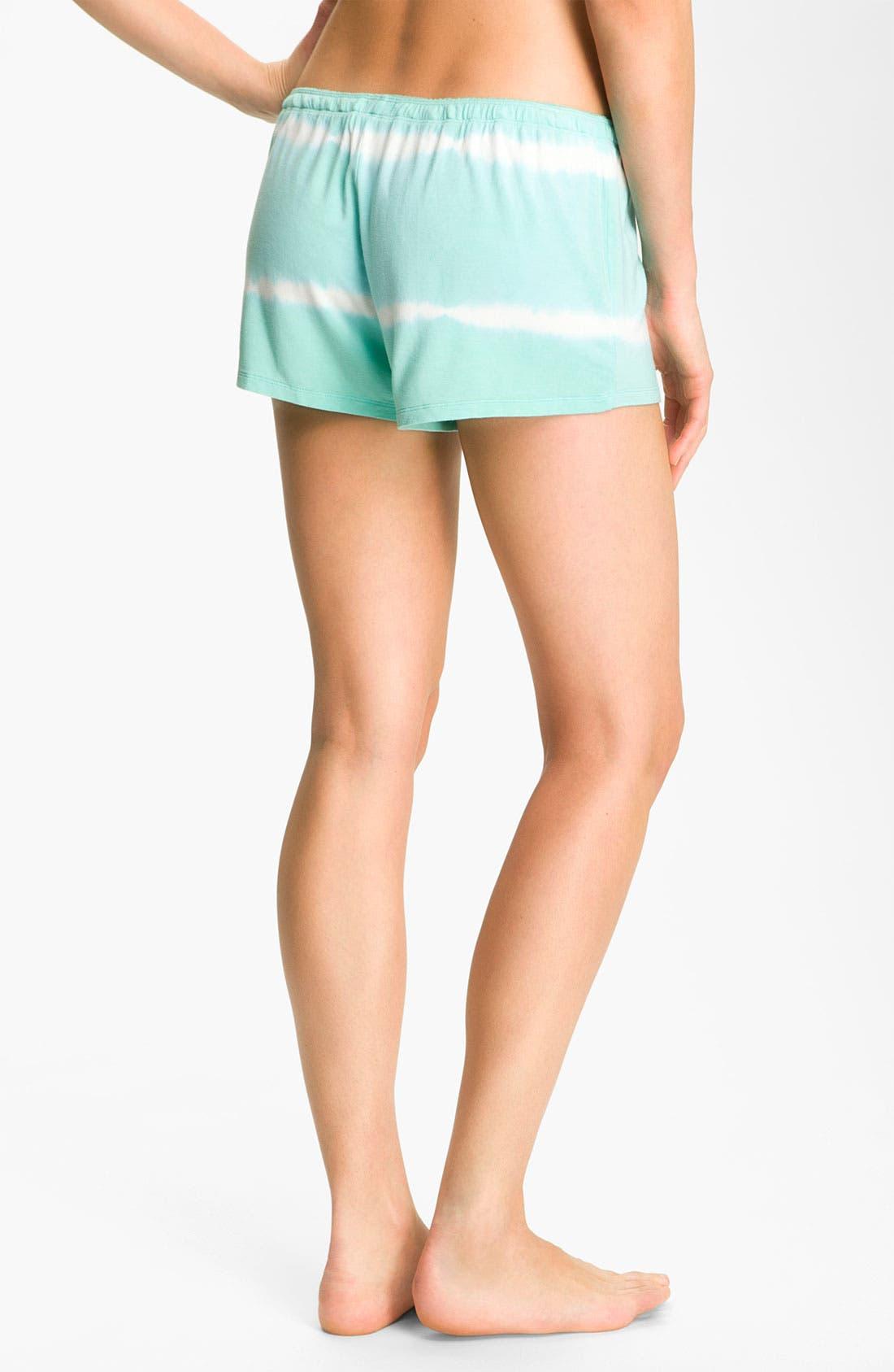 Alternate Image 2  - PJ Salvage Tie Dye Lounge Shorts