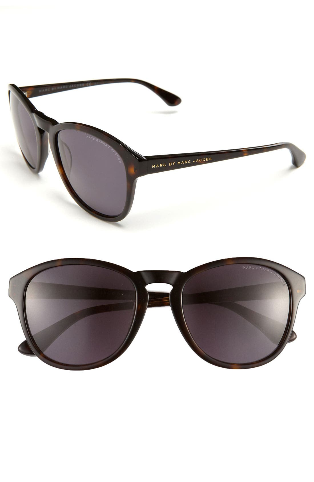 Alternate Image 1 Selected - MARC BY MARC JACOBS 54mm Oval Sunglasses