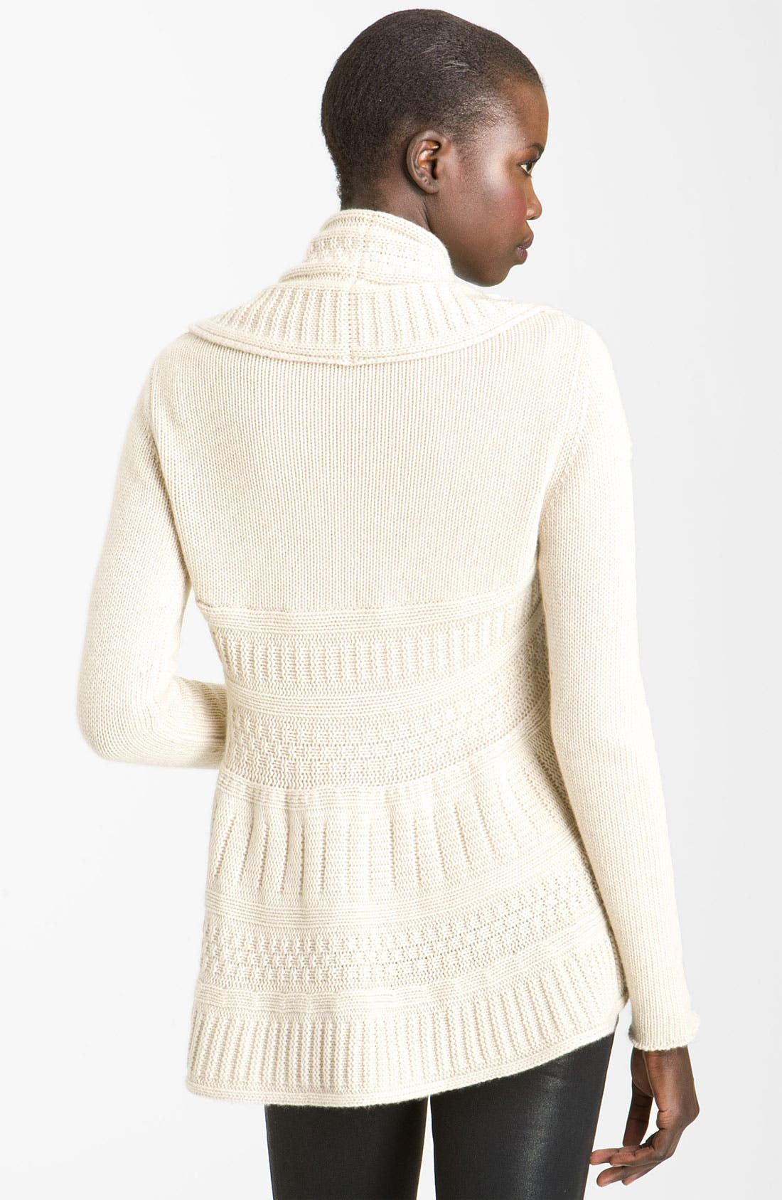 Alternate Image 3  - autumn cashmere Cable Knit Cardigan