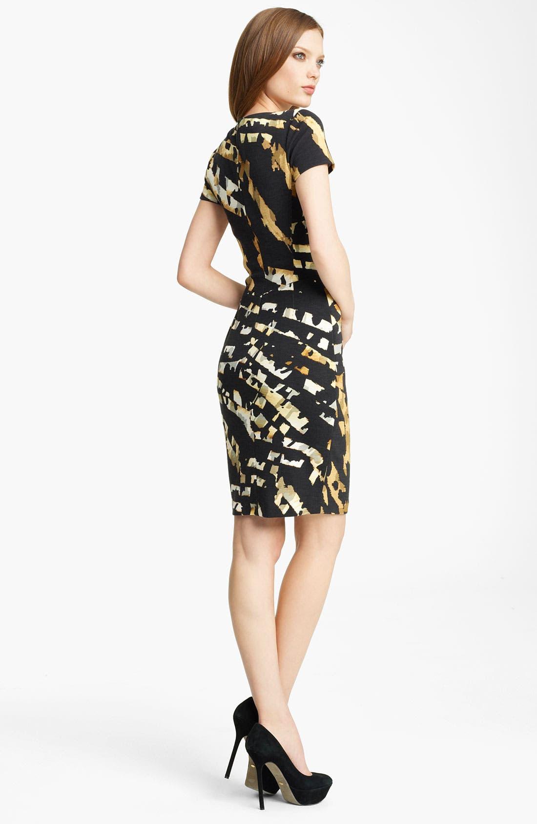 Alternate Image 2  - Blumarine Animal Print Jersey Dress