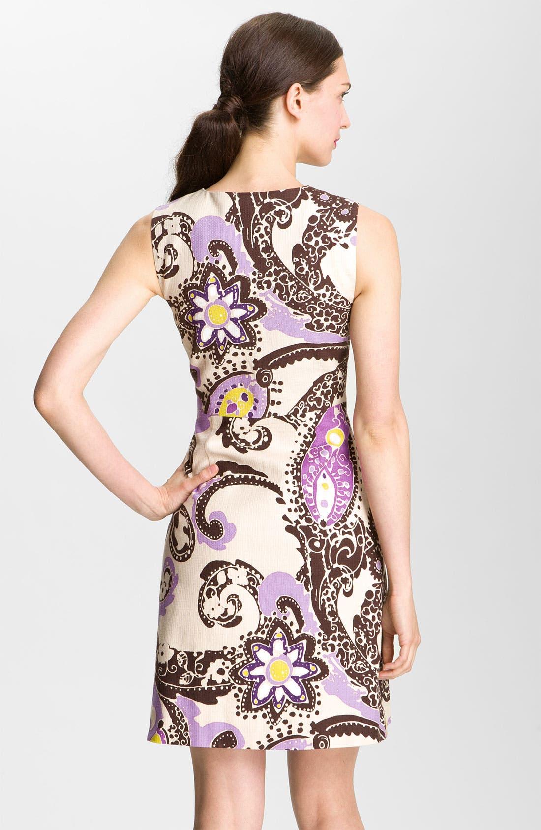 Alternate Image 2  - kate spade new york 'kerian' print sheath dress