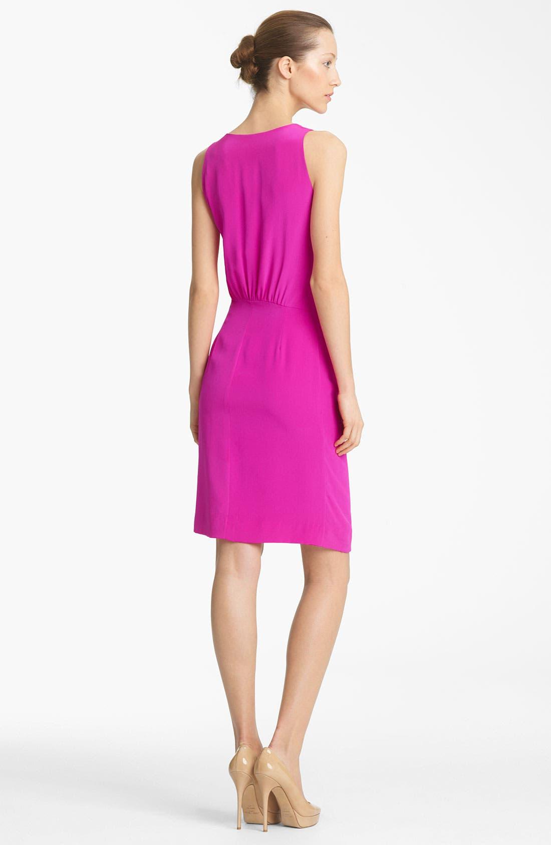 Alternate Image 2  - Thakoon Faux Wrap Silk Dress