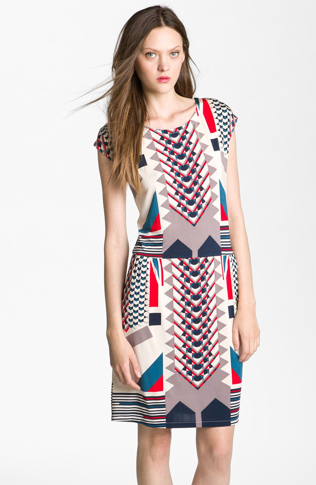 Alternate Image 1 Selected - MARC BY MARC JACOBS 'Tinka' Print Jersey Dress
