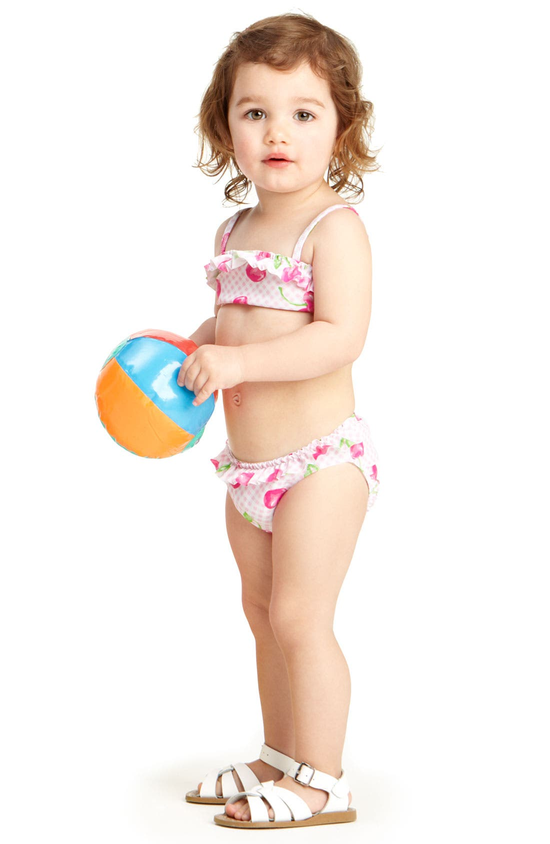 Alternate Image 2  - Kate Mack Two Piece Swimsuit (Infant)
