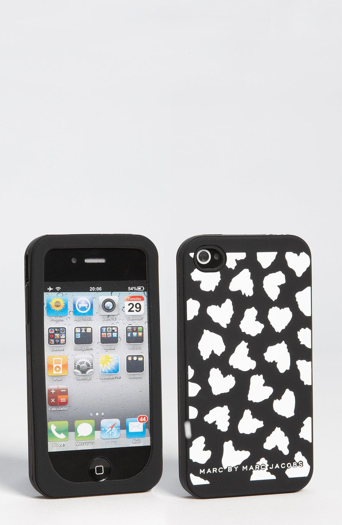 Alternate Image 1 Selected - MARC BY MARC JACOBS 'Wild Hearts' iPhone 4 & 4S Cover