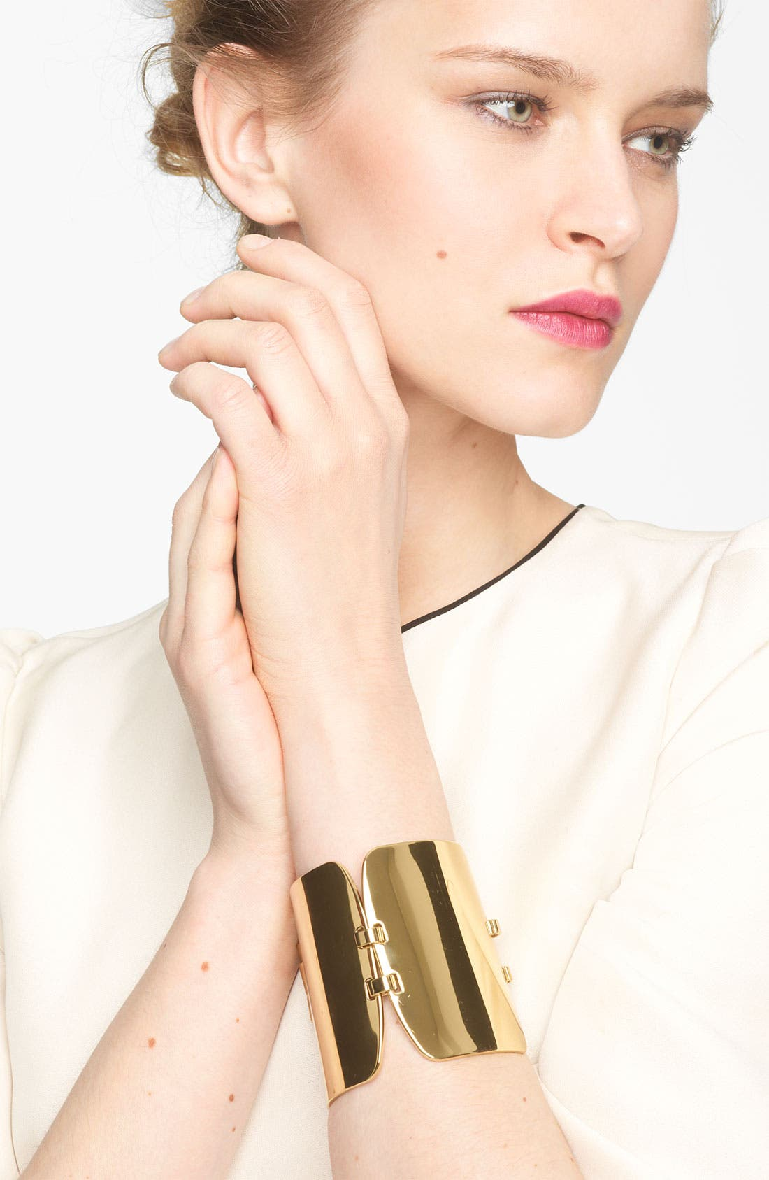 Alternate Image 1 Selected - Marni Gold Plate Bracelet