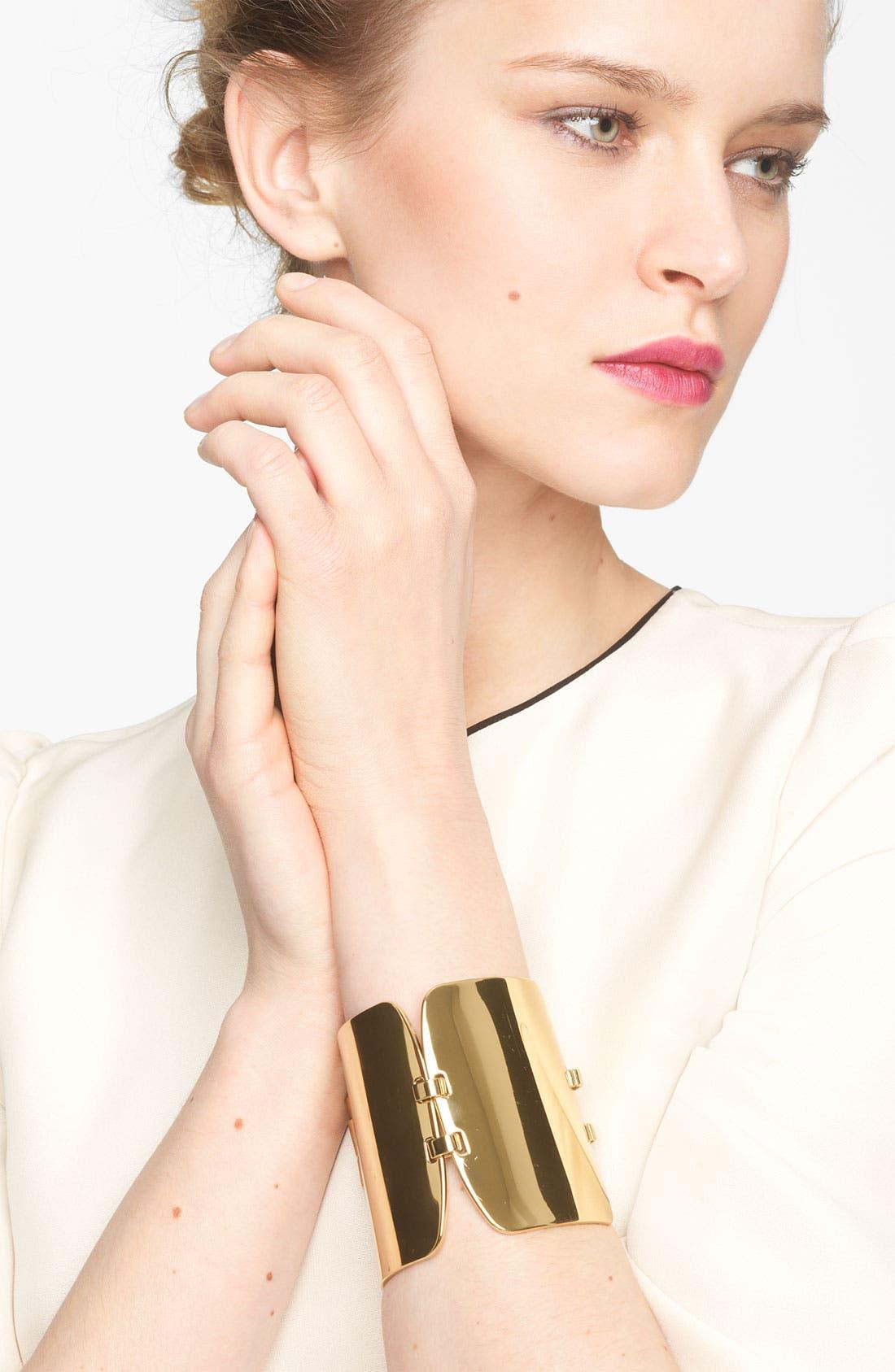 Main Image - Marni Gold Plate Bracelet