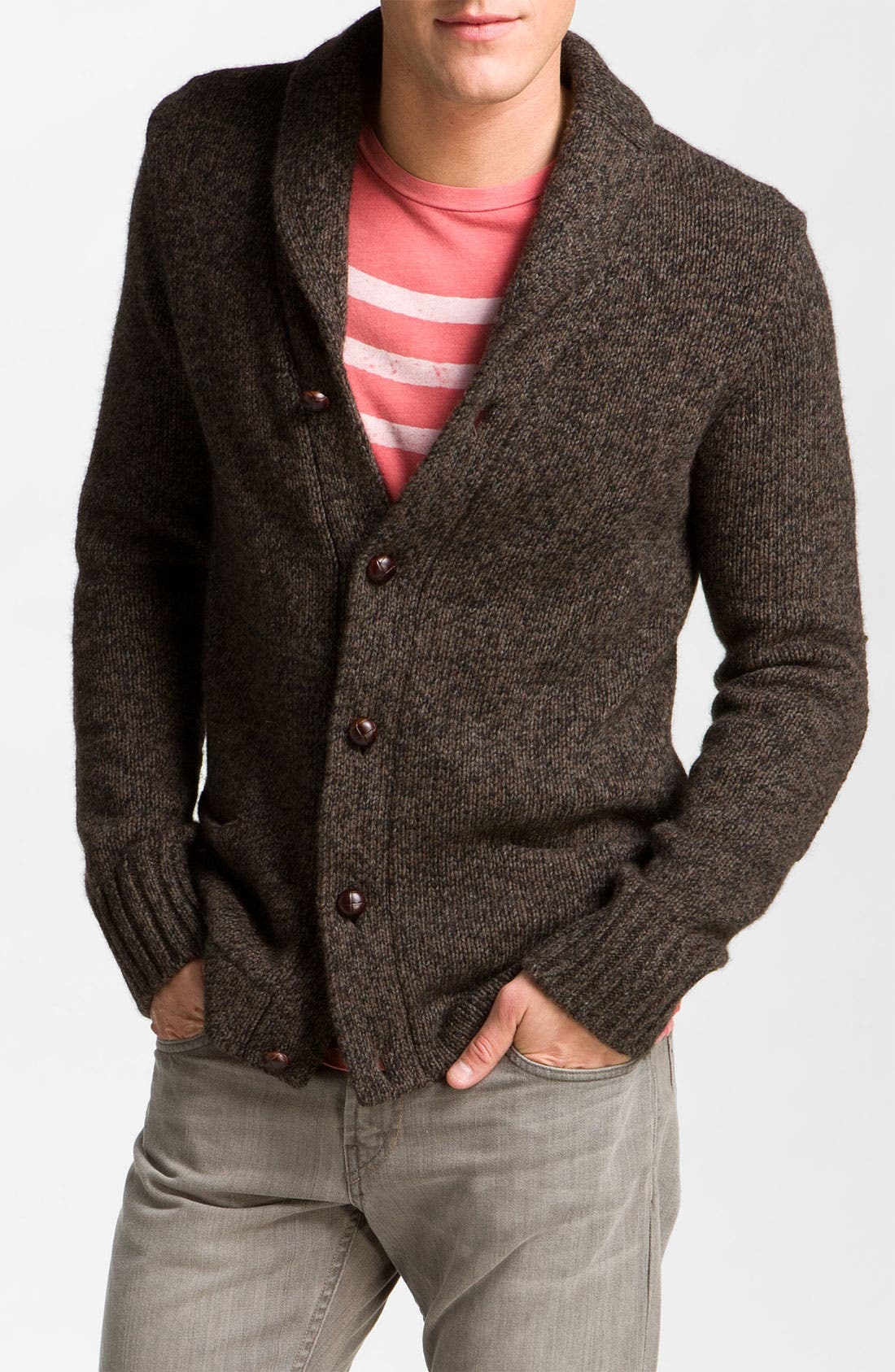 Alternate Image 1 Selected - Vince Shawl Collar Cardigan