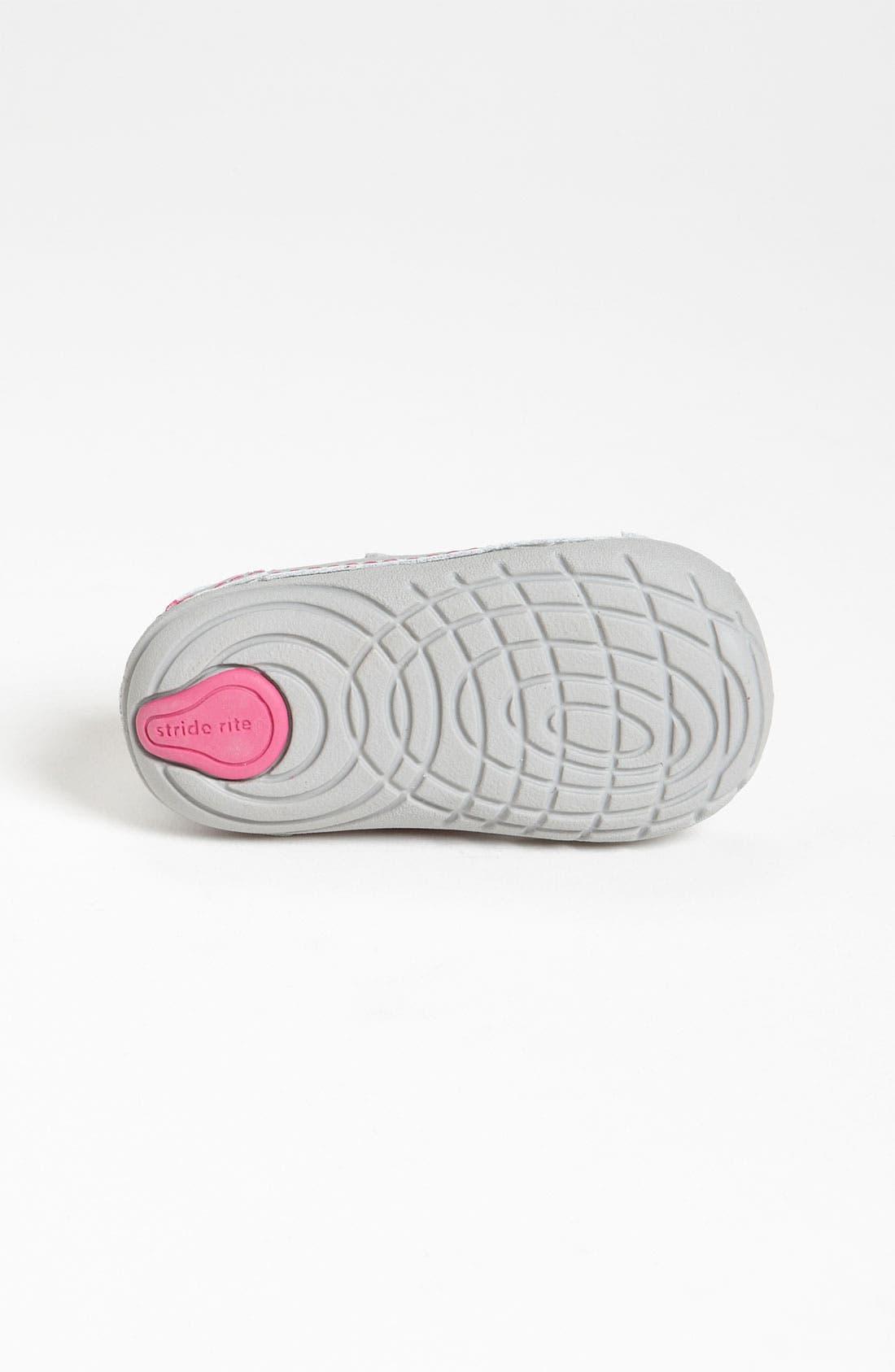 Alternate Image 4  - Stride Rite 'Dream Queen' Sneaker (Baby & Walker)