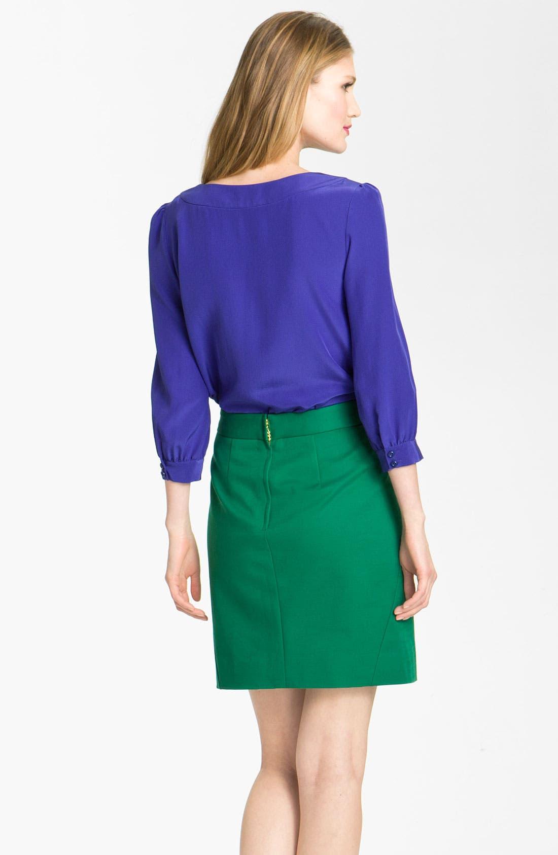 Alternate Image 2  - kate spade new york 'bridgette' blouse