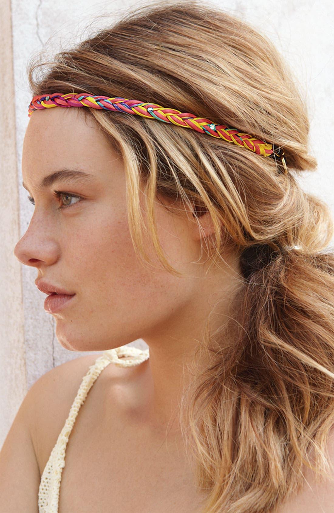 Alternate Image 2  - Cara Braided Head Wrap