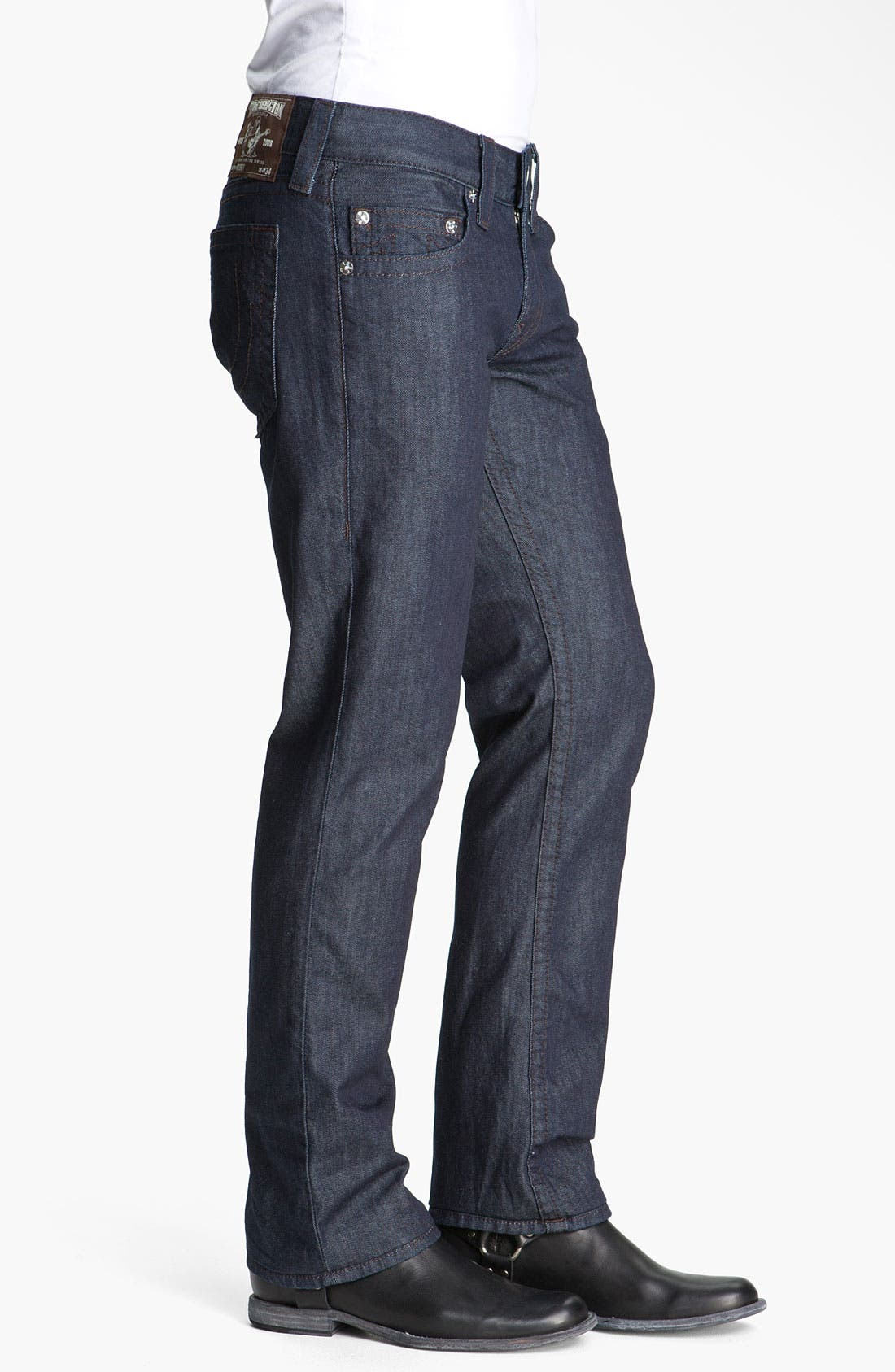 Alternate Image 3  - True Religion Brand Jeans 'Bobby' Straight Leg Jeans (Bodyrinse)