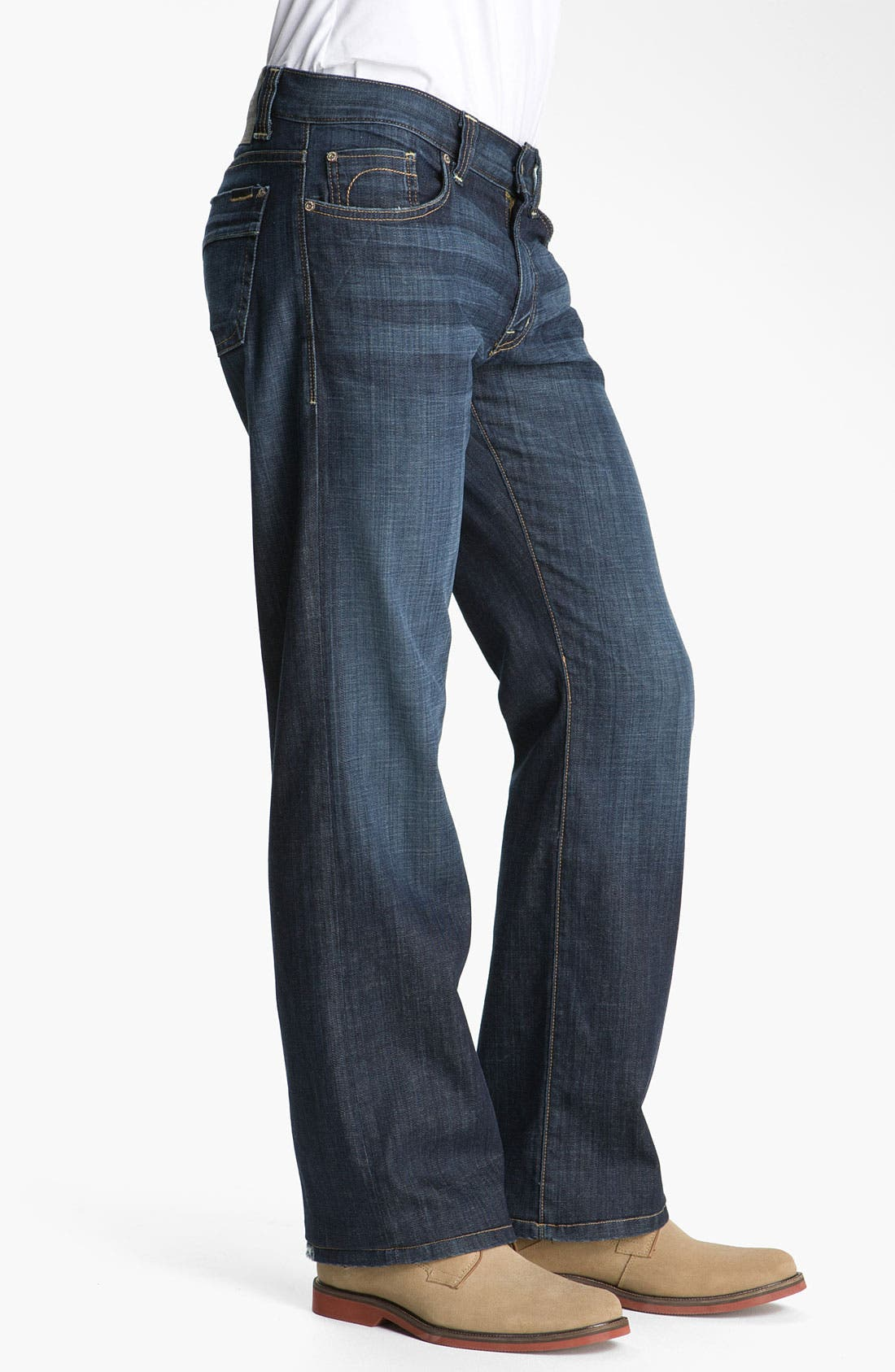 Alternate Image 3  - Fidelity Denim 'Camino' Relaxed Leg Jeans (Generation Blue)