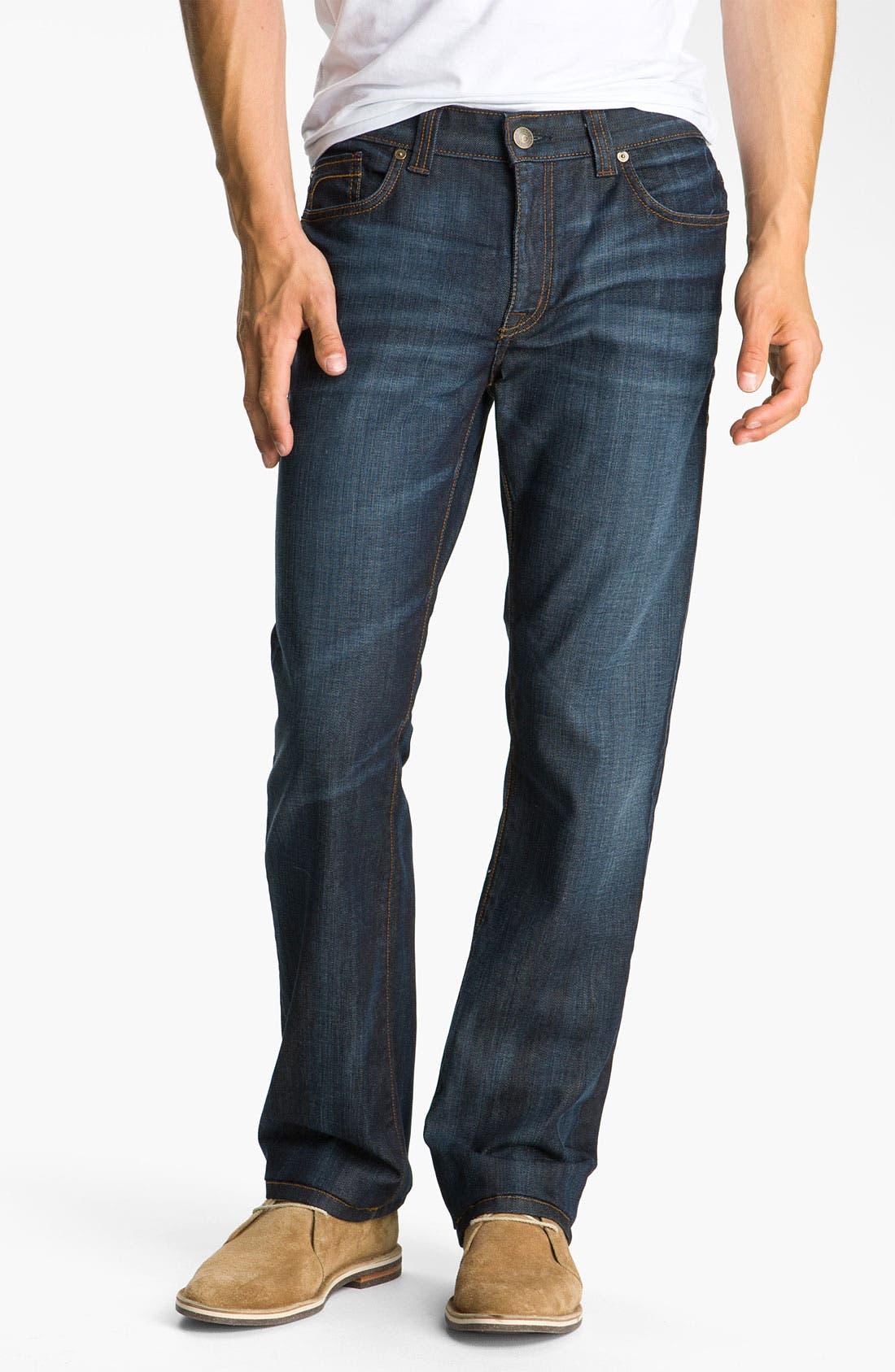 Alternate Image 1 Selected - Fidelity Denim 'Impala' Slim Straight Leg Jeans (Altmont Dark Vintage)