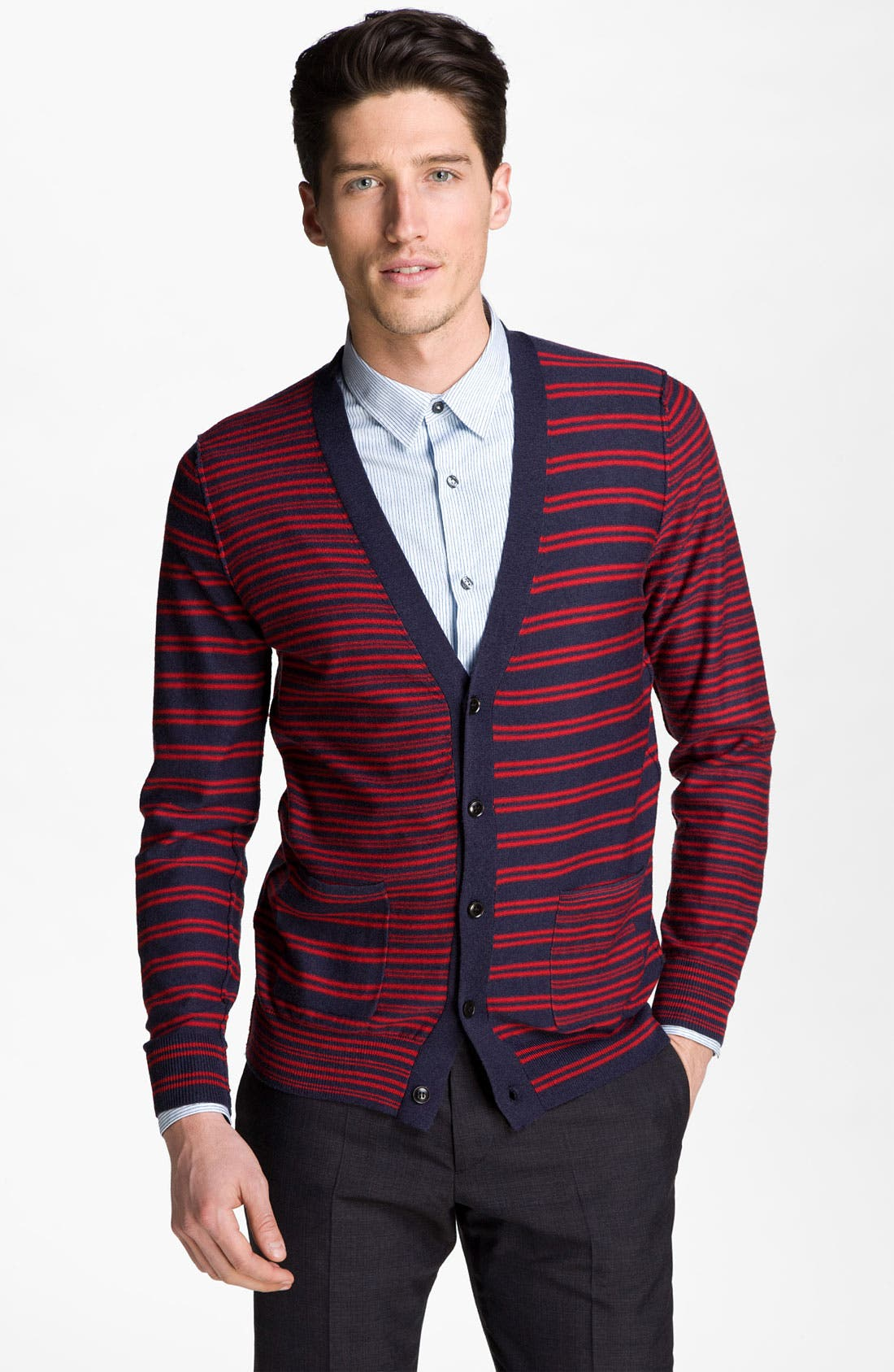 Alternate Image 1 Selected - PS Paul Smith Wool Cardigan