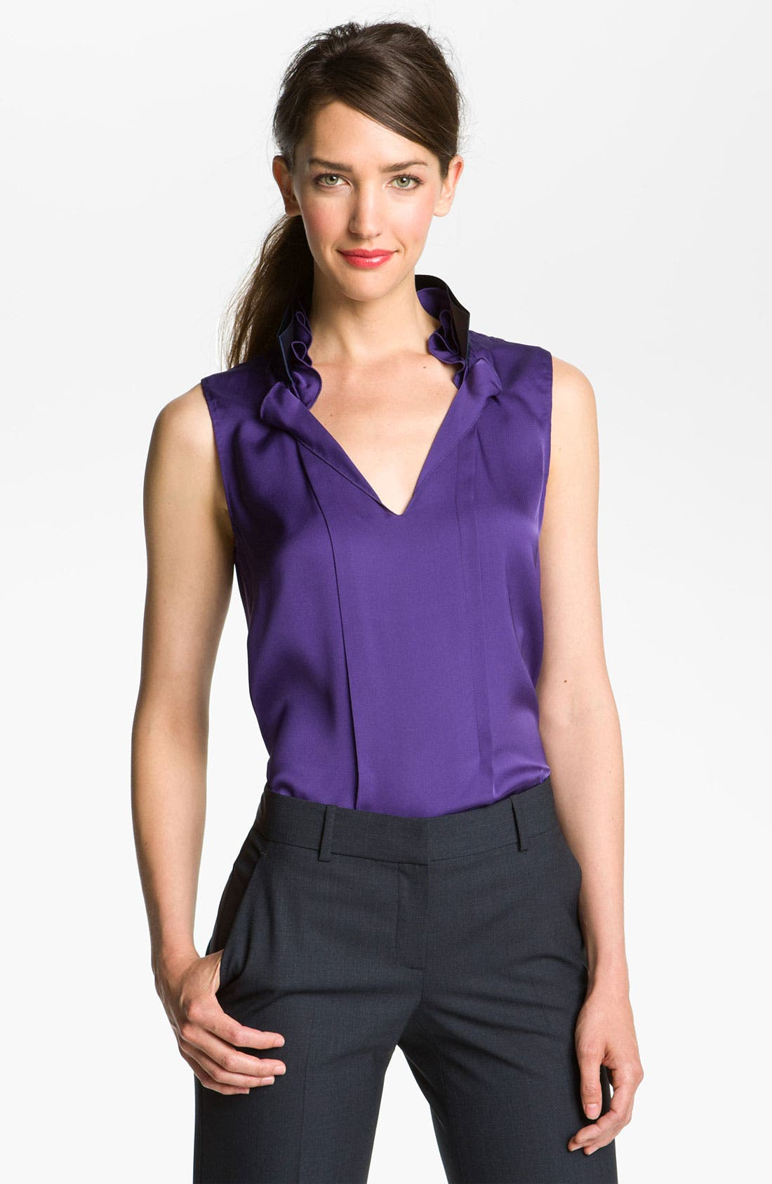 Alternate Image 1 Selected - Elie Tahari Exclusive for Nordstrom 'Valeria' Blouse