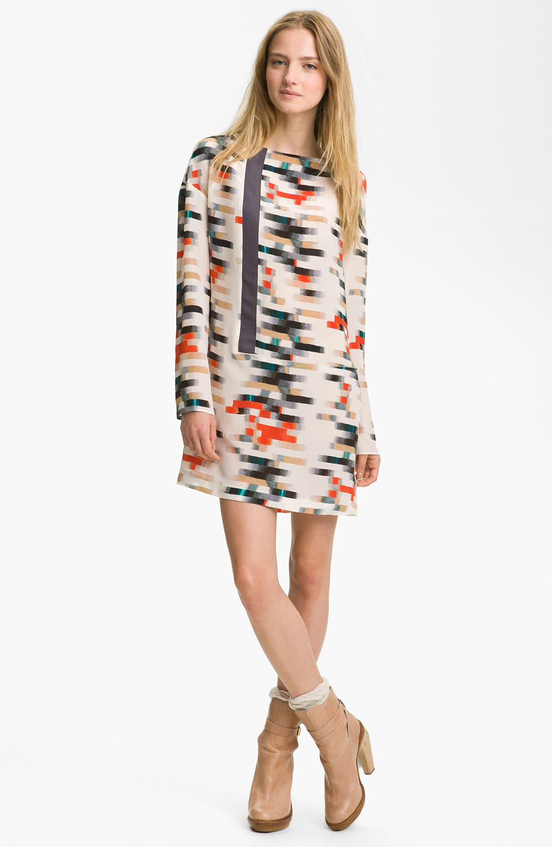 Alternate Image 1 Selected - Cacharel Print Silk Dress